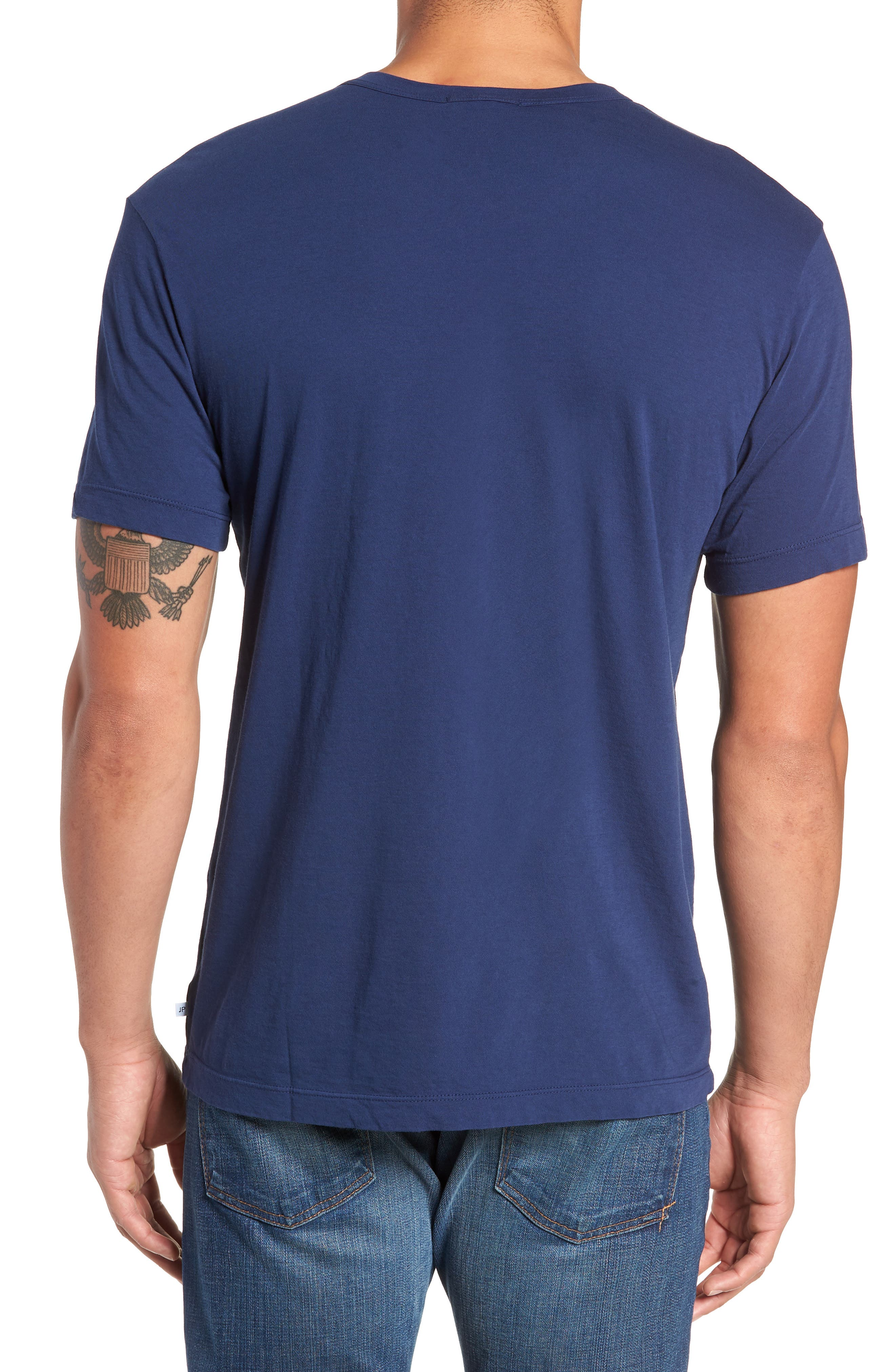 Crewneck Jersey T-Shirt,                             Alternate thumbnail 238, color,