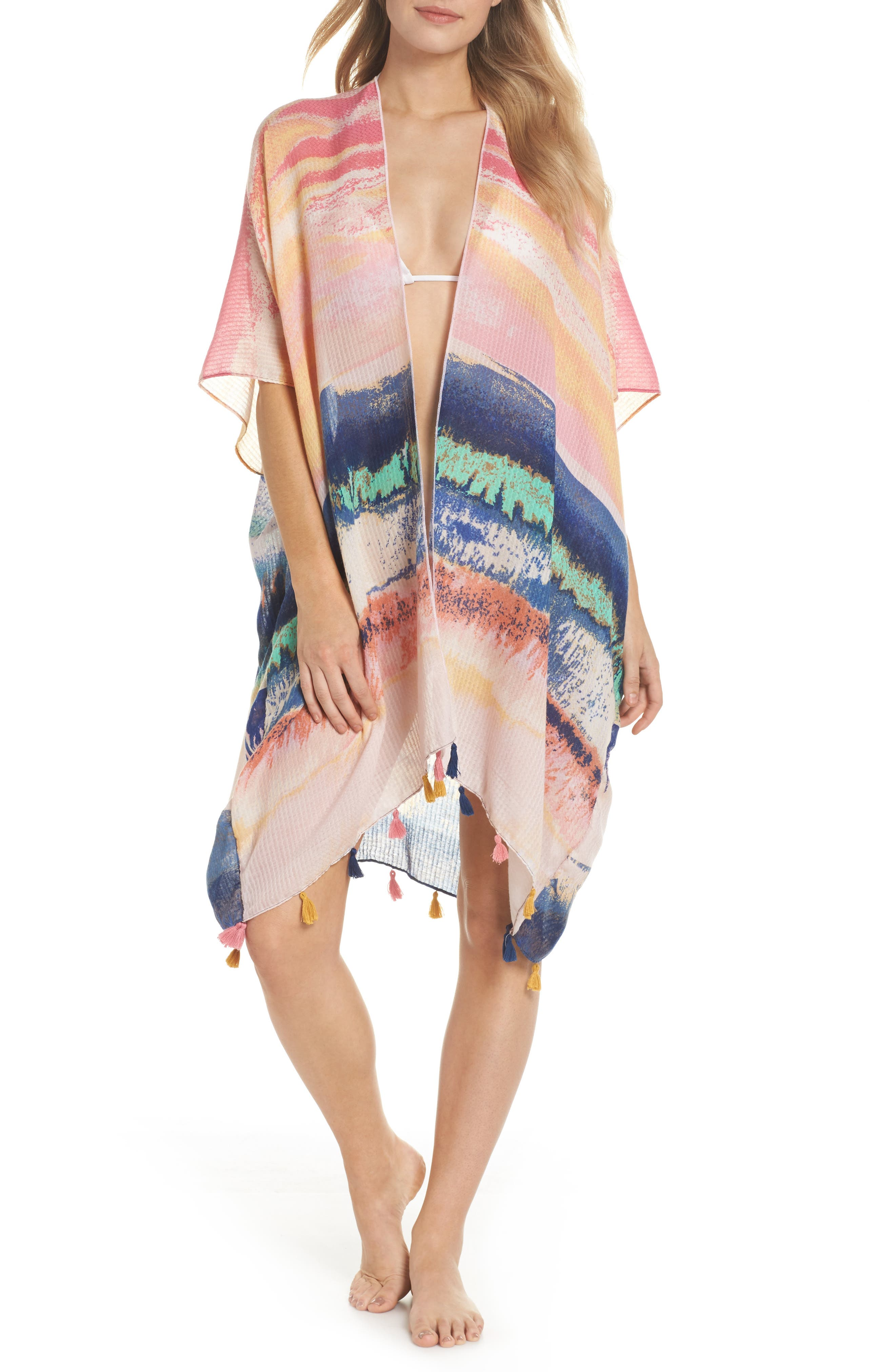 Tassel Cover-Up,                         Main,                         color,