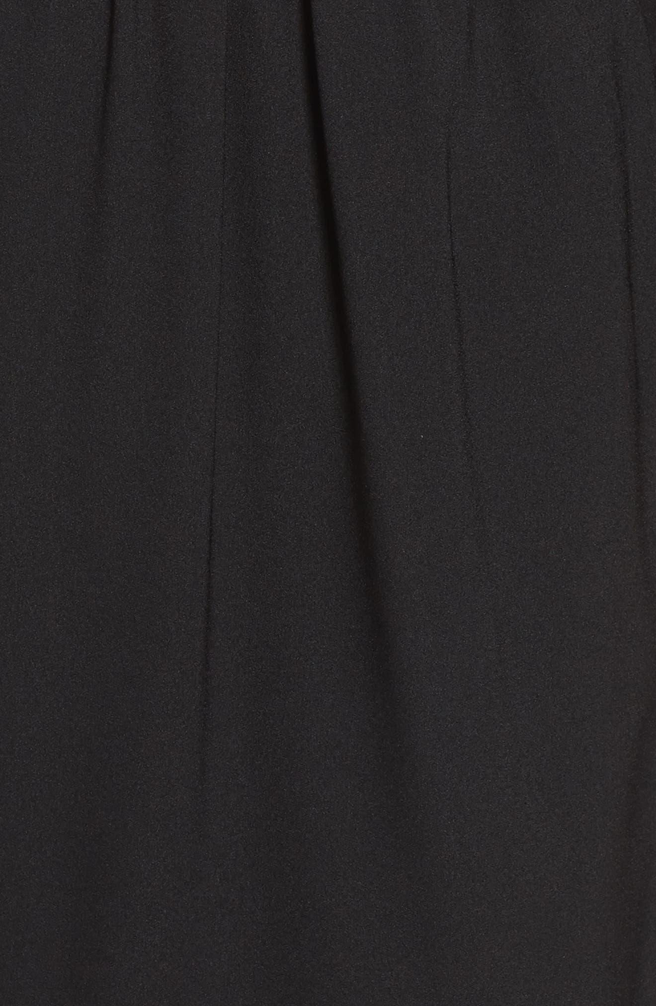 Cold Shoulder Dress,                             Alternate thumbnail 5, color,                             001