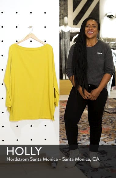 Side Tie Cotton Tunic Top, sales video thumbnail
