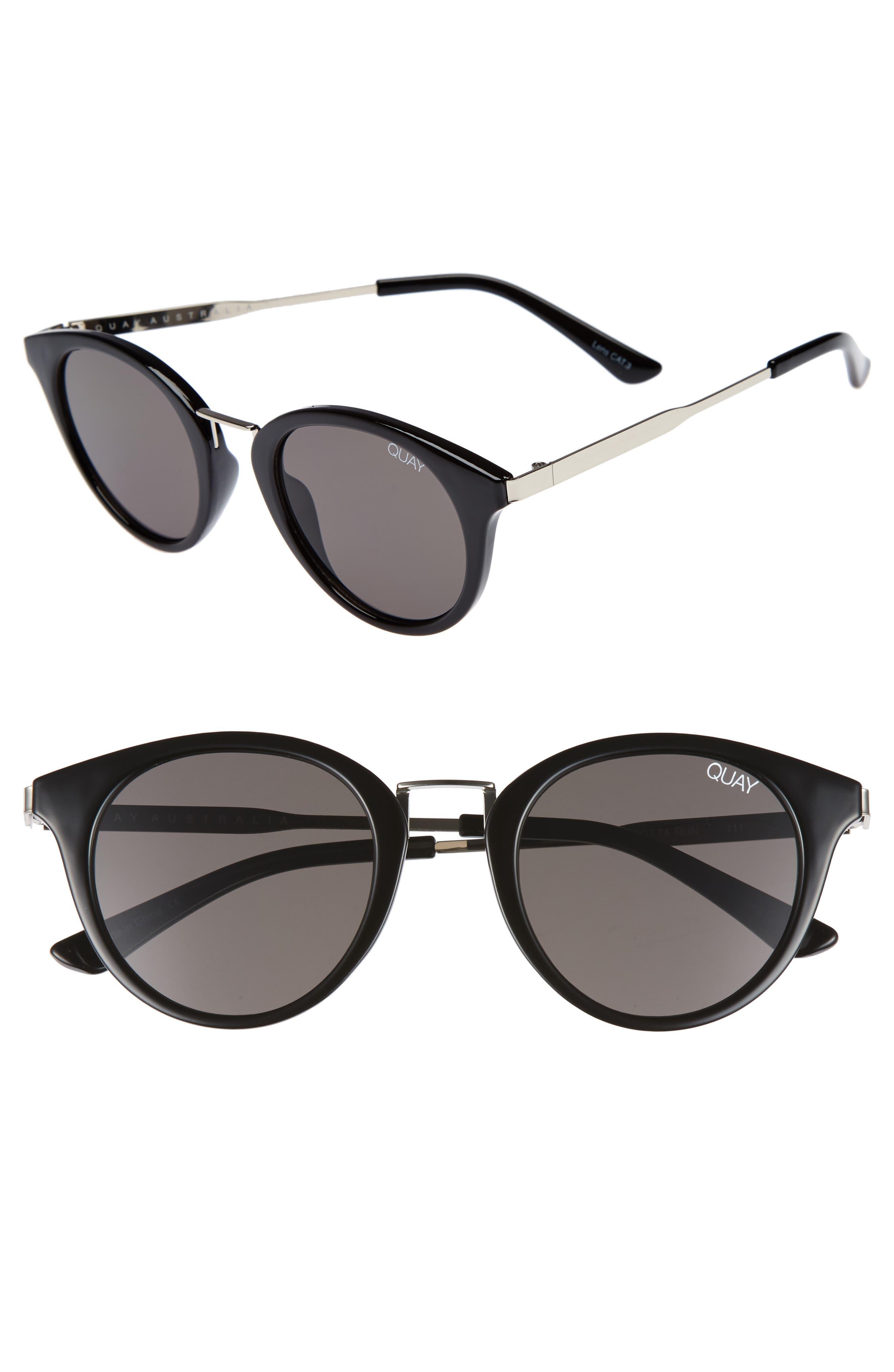 Gotta Run 48mm Sunglasses,                             Main thumbnail 1, color,                             001
