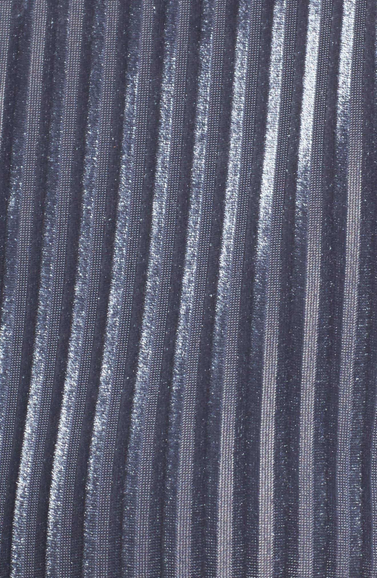 Velvet Wrap Top,                             Alternate thumbnail 5, color,                             020