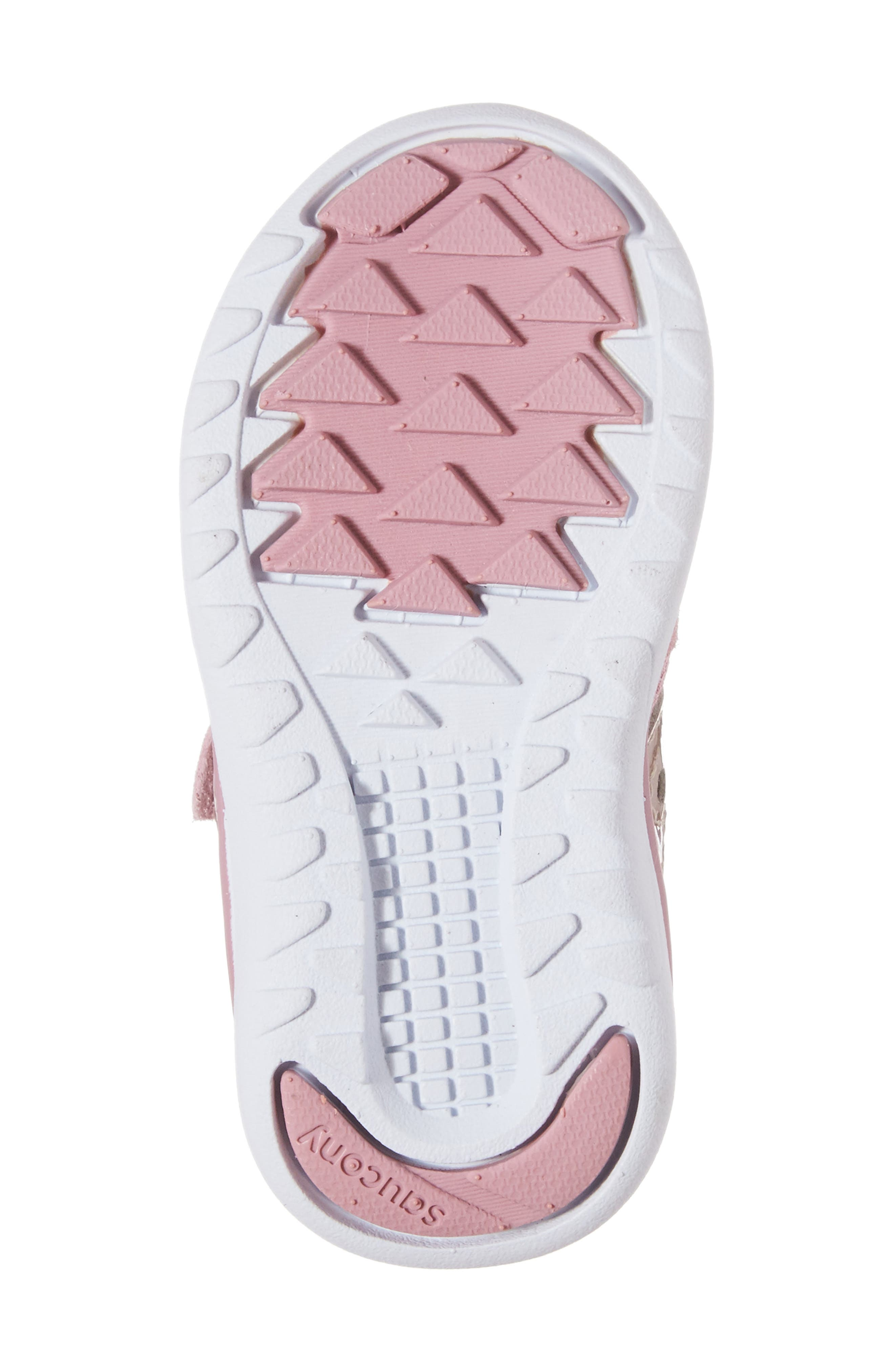 Jazz Lite Sneaker,                             Alternate thumbnail 6, color,                             BLUSH METALLIC