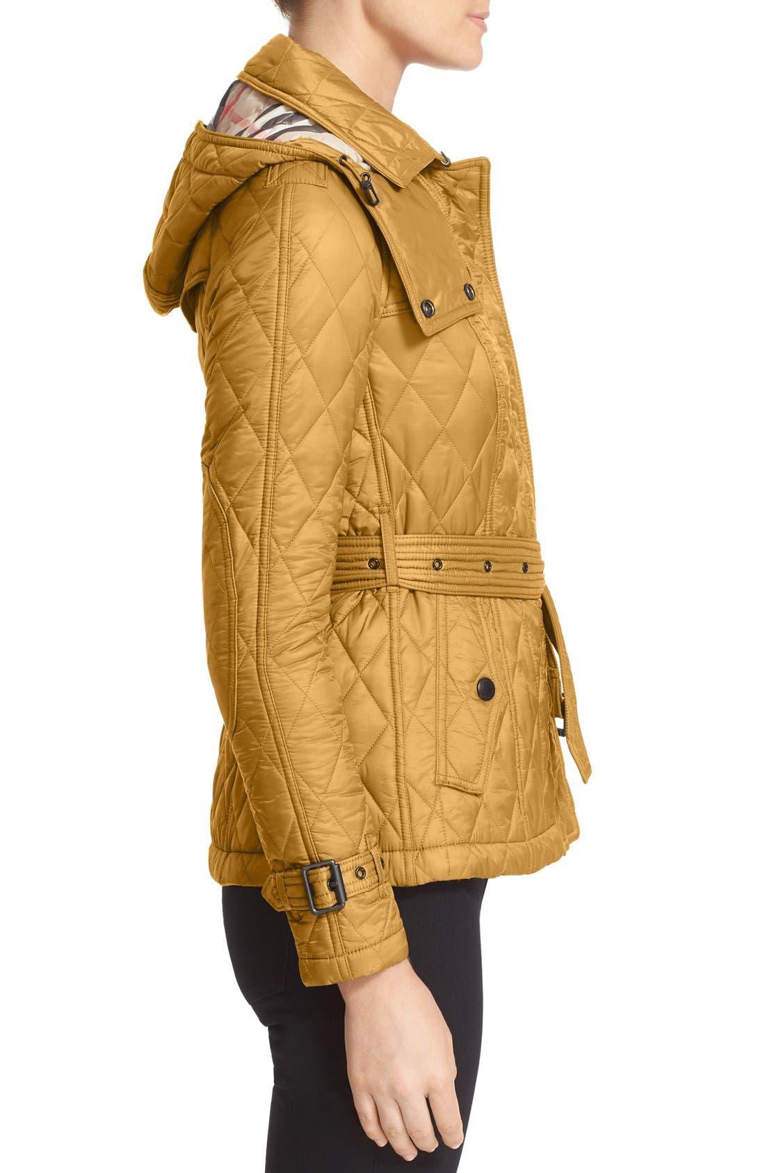 Finsbridge ShortQuilted Jacket,                             Alternate thumbnail 7, color,