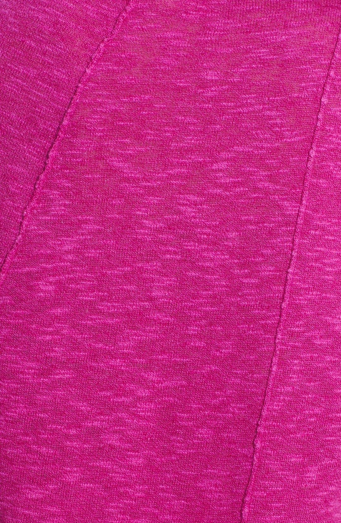 Cap Sleeve Organic Linen & Cotton Scoop Neck Top,                             Alternate thumbnail 53, color,