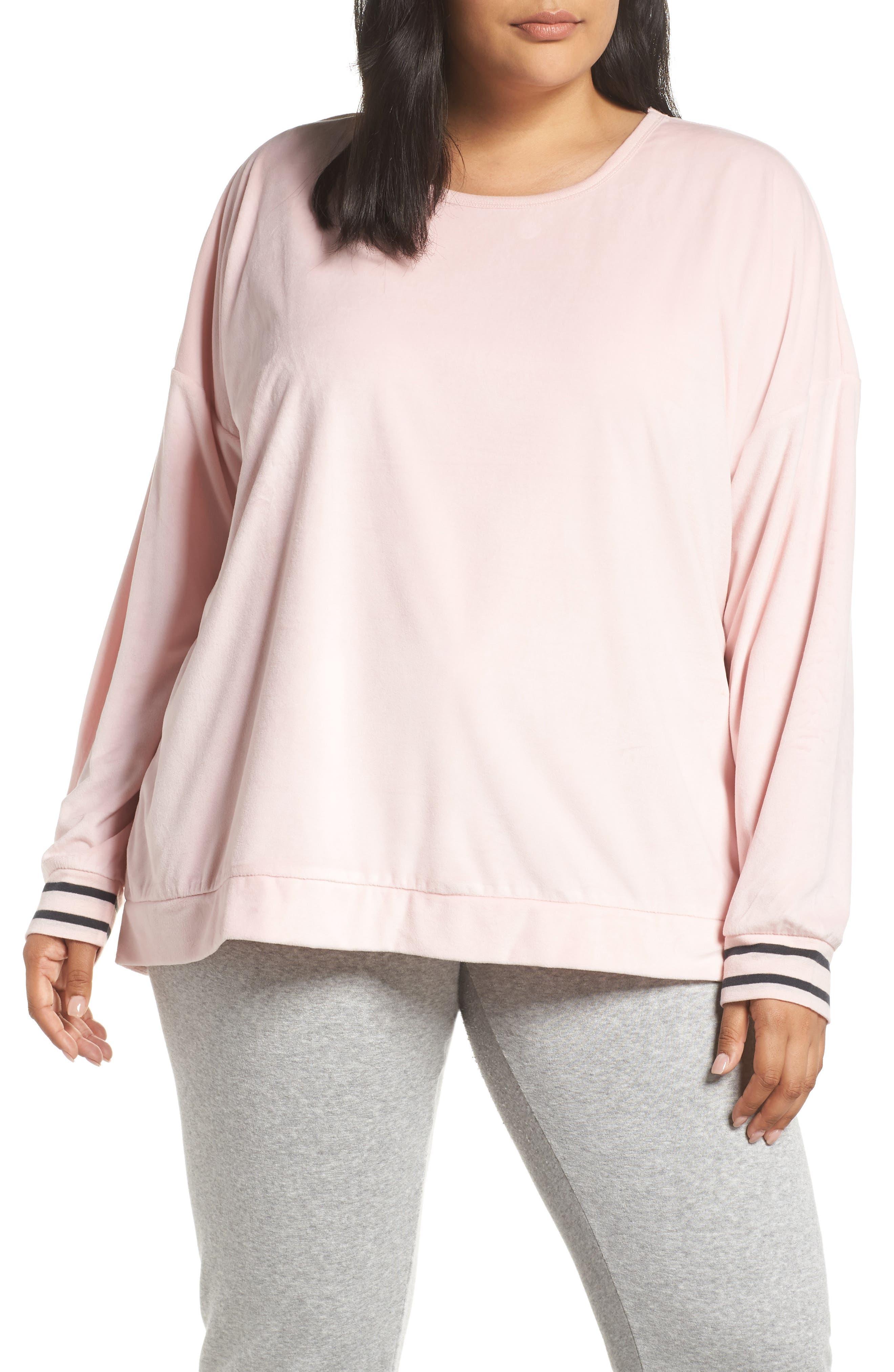 Plus Size Pj Salvage Velour Pajama Top