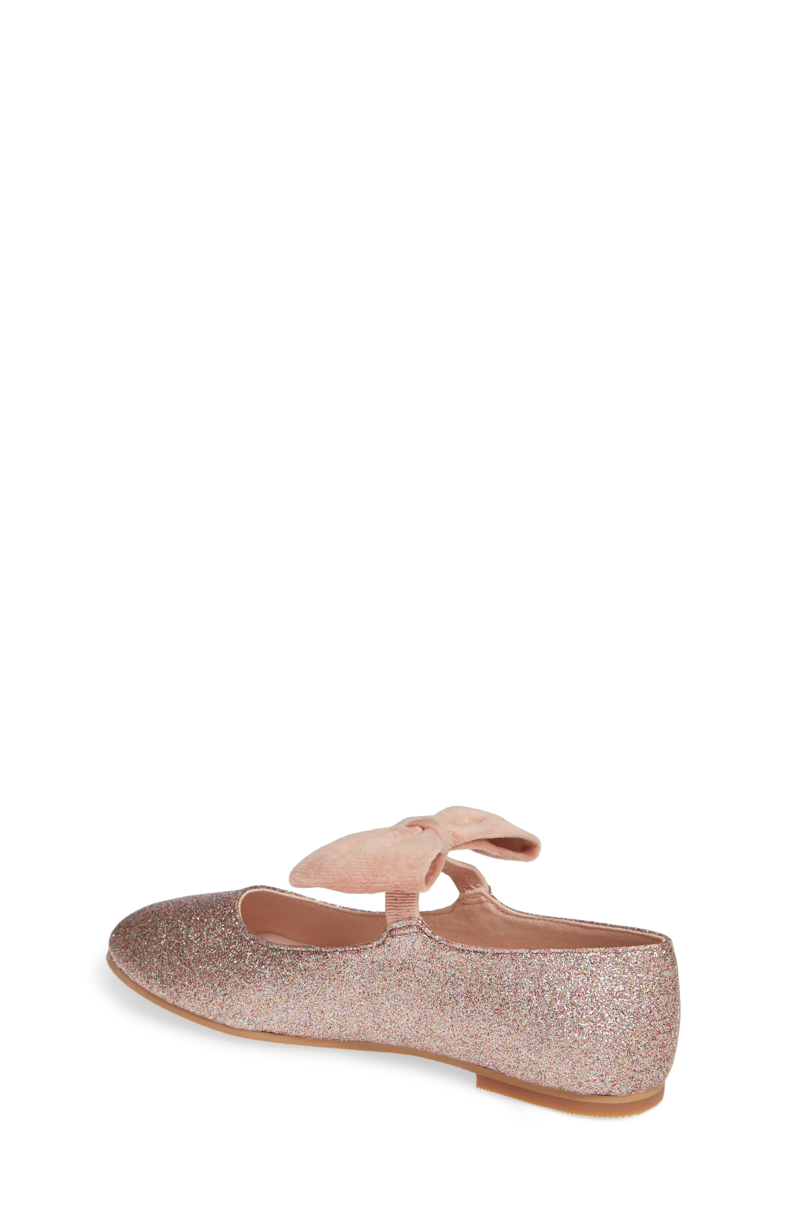 Eleanore Mary Jane Flat,                             Alternate thumbnail 2, color,                             PINK MULTI GLITTER PU