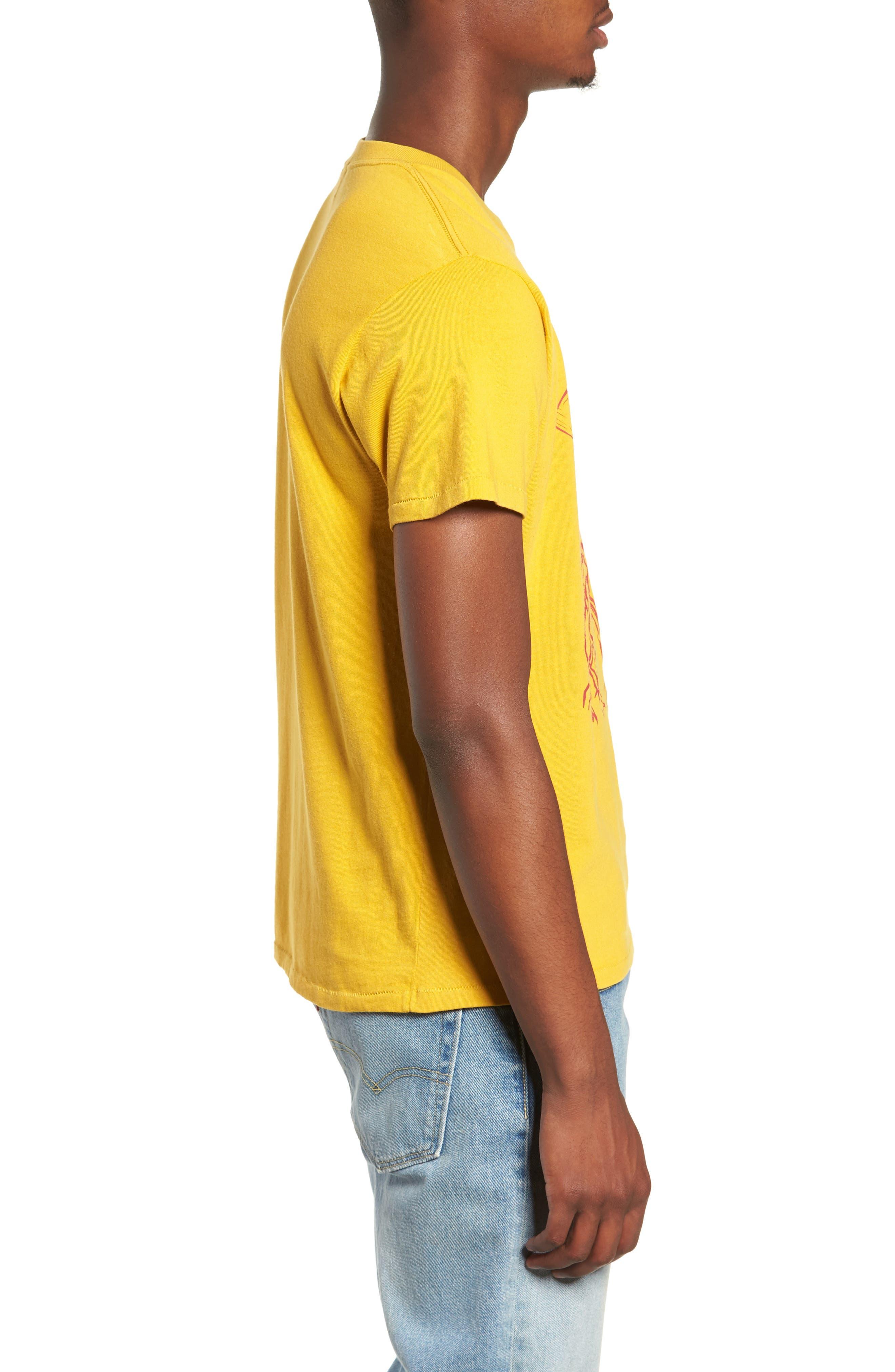 Graphic Slim Fit T-Shirt,                             Alternate thumbnail 3, color,                             700