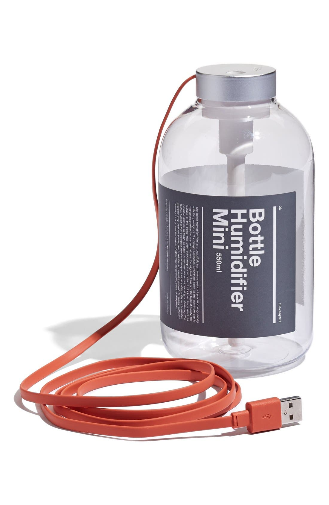 '11+ Bottle Humidifier Mini' USB Travel Humidifier, Main, color, 001