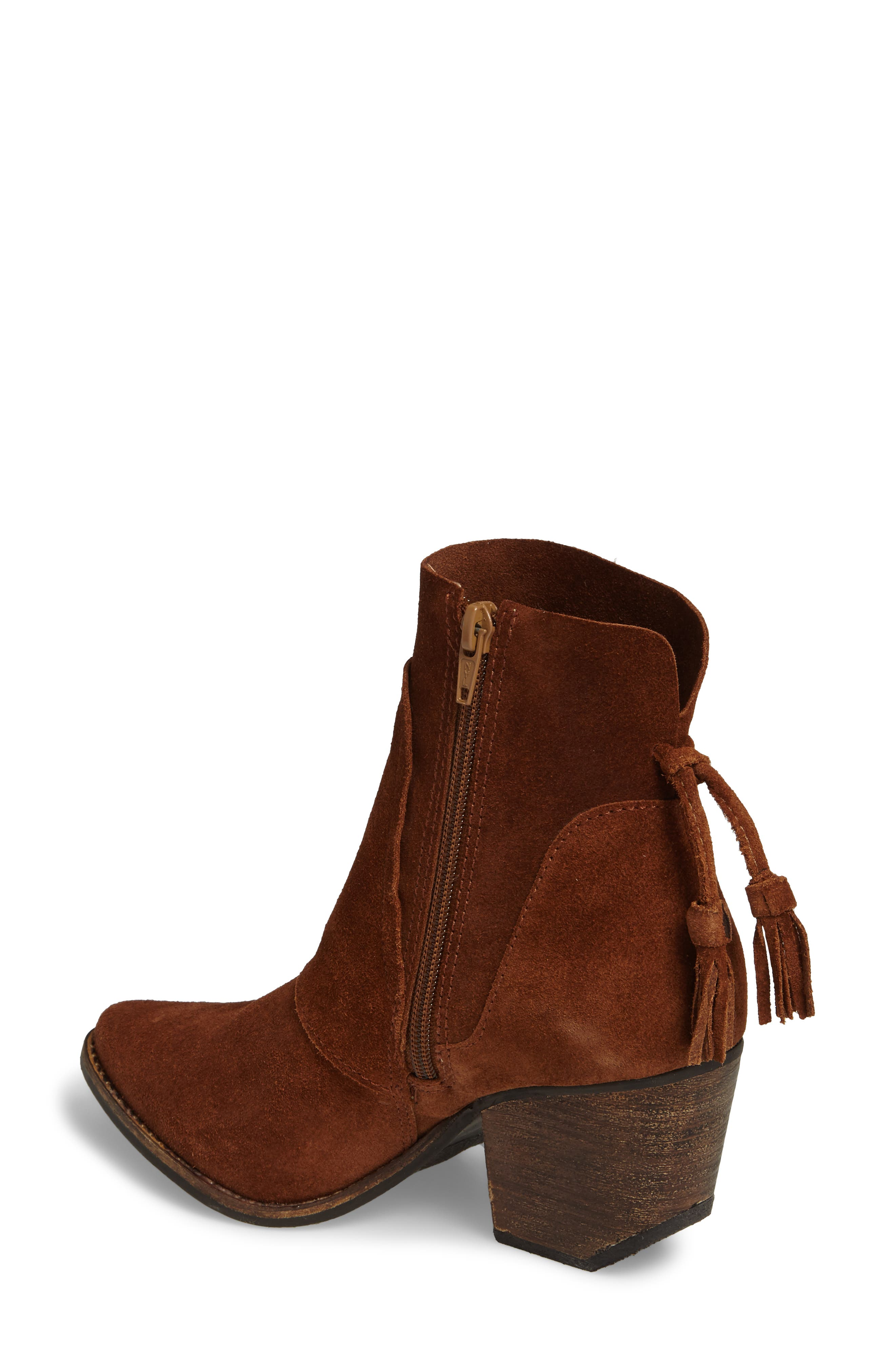 Laney Notched Heel Bootie,                             Alternate thumbnail 7, color,