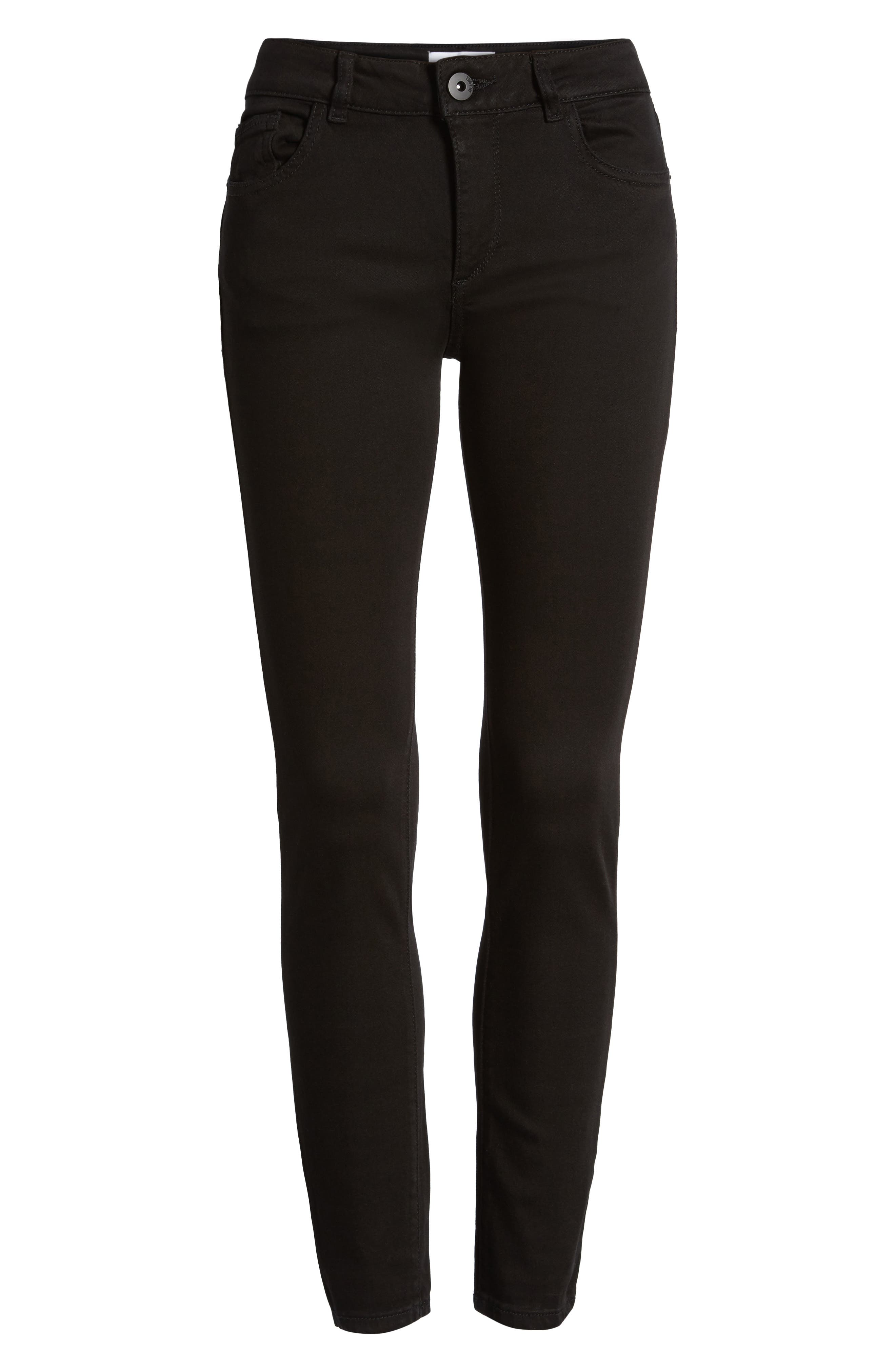 'Margaux' Instasculpt Ankle Skinny Jeans,                             Alternate thumbnail 2, color,                             HAIL