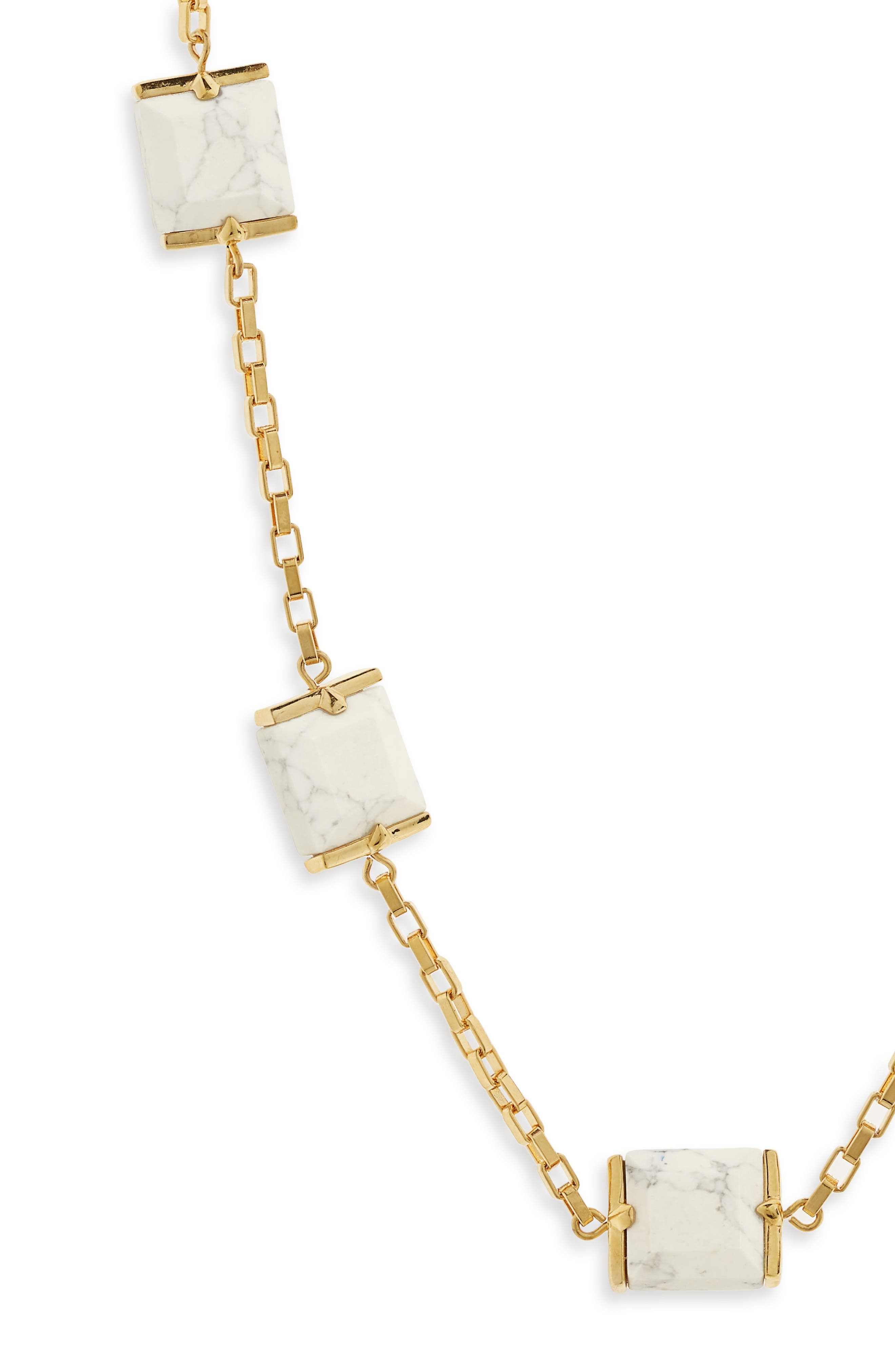 Rosary Faceted Marble Cube Necklace,                             Alternate thumbnail 2, color,                             100
