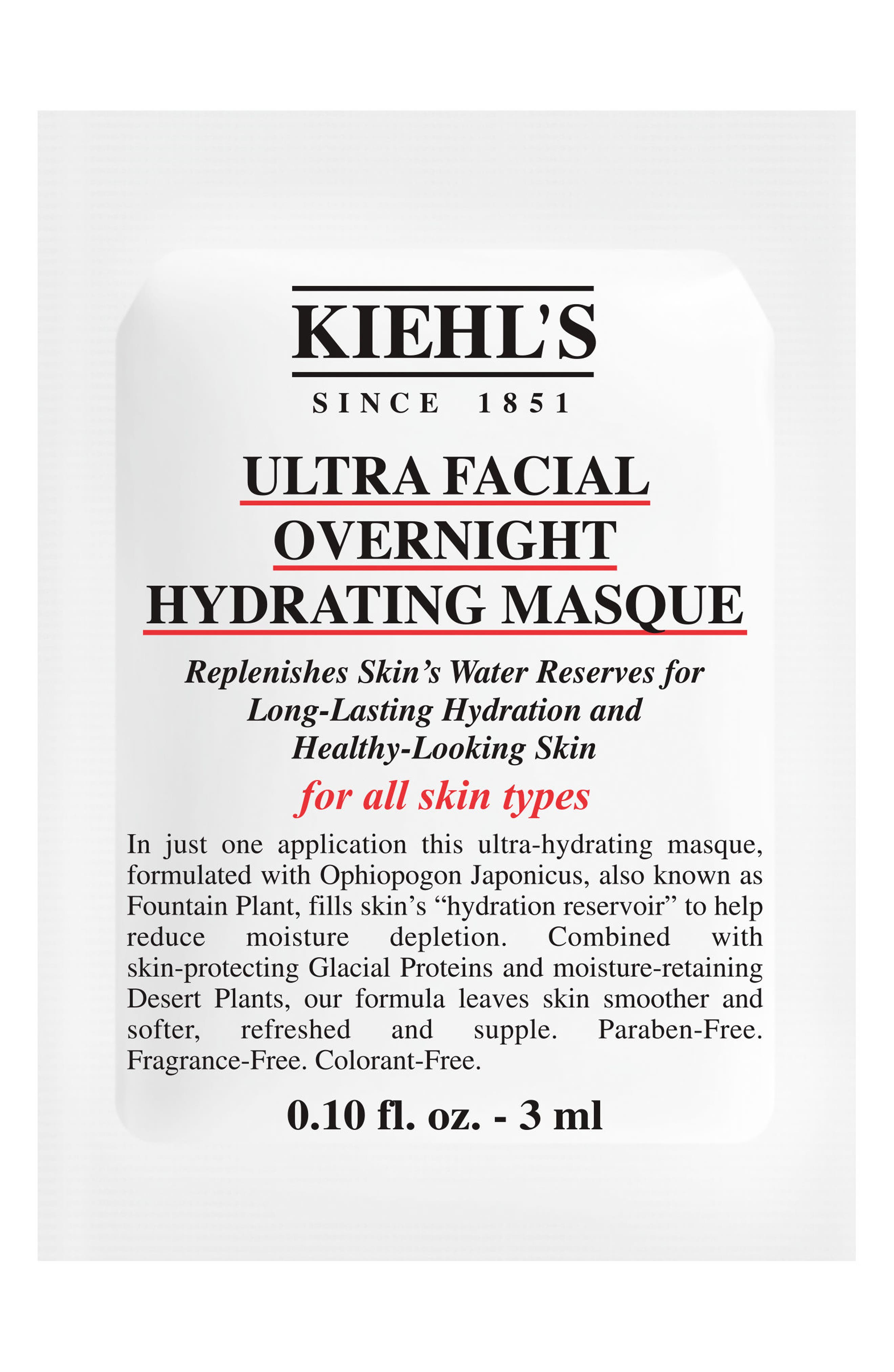 Ultra Facial Overnight Hydrating Masque,                             Alternate thumbnail 5, color,                             NO COLOR