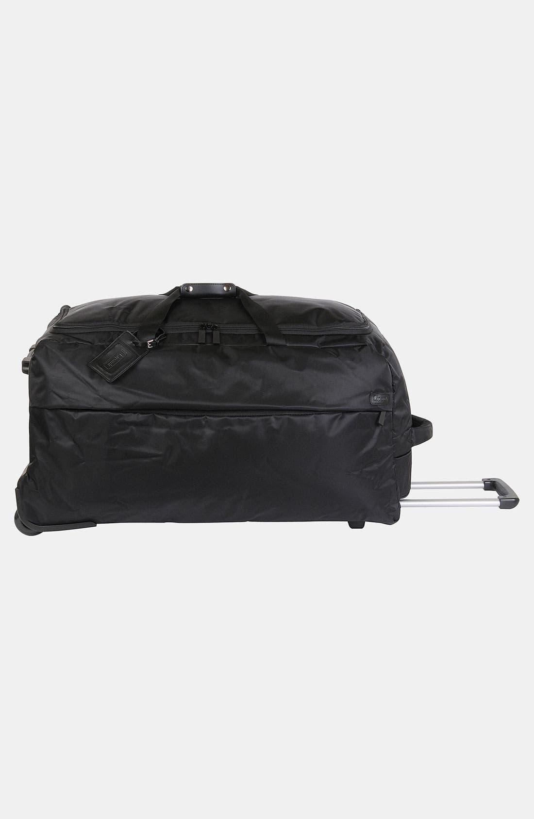 Foldable Rolling Duffel Bag,                             Alternate thumbnail 3, color,                             001