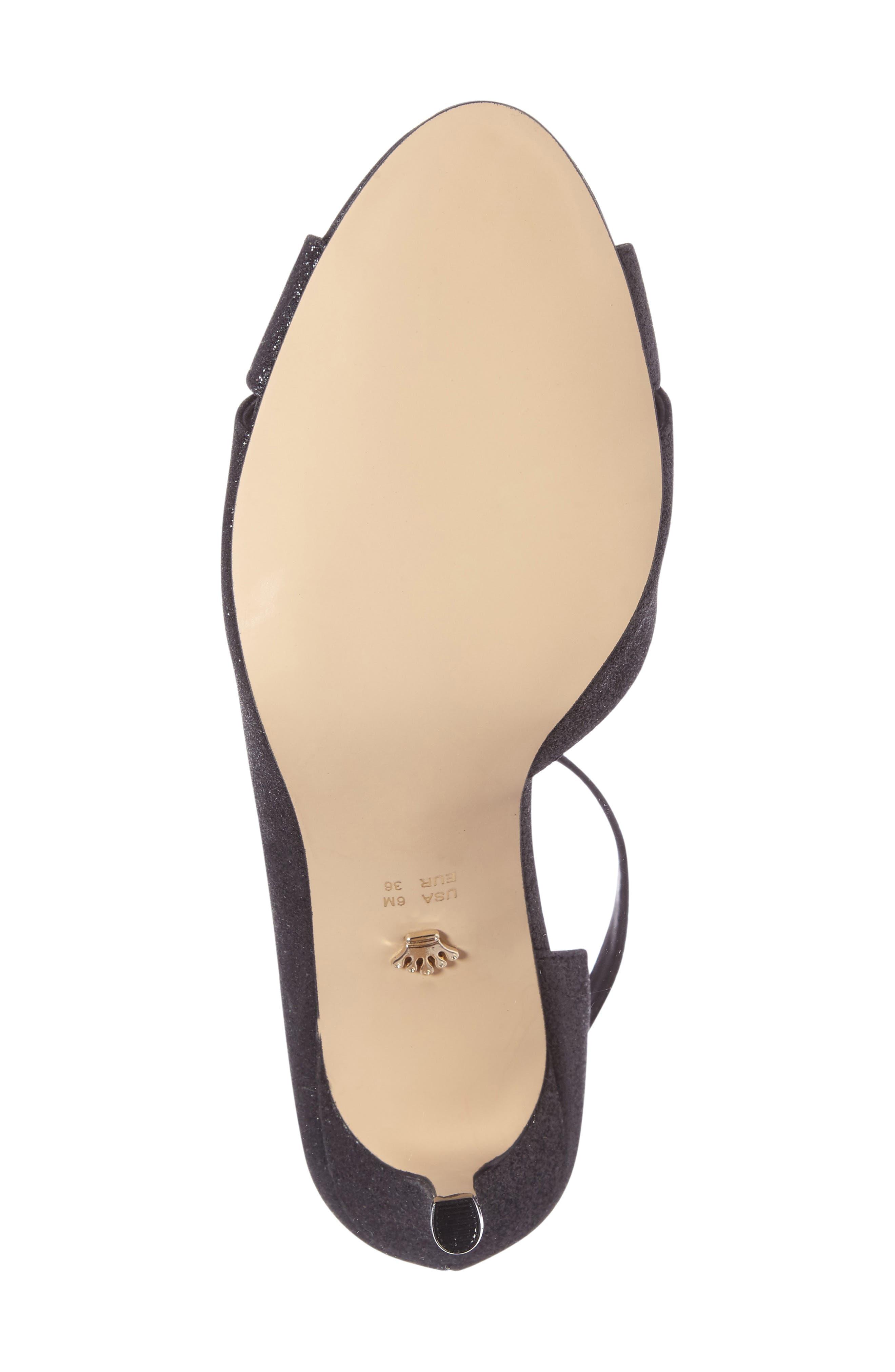 Flo Ankle Strap Sandal,                             Alternate thumbnail 4, color,                             004