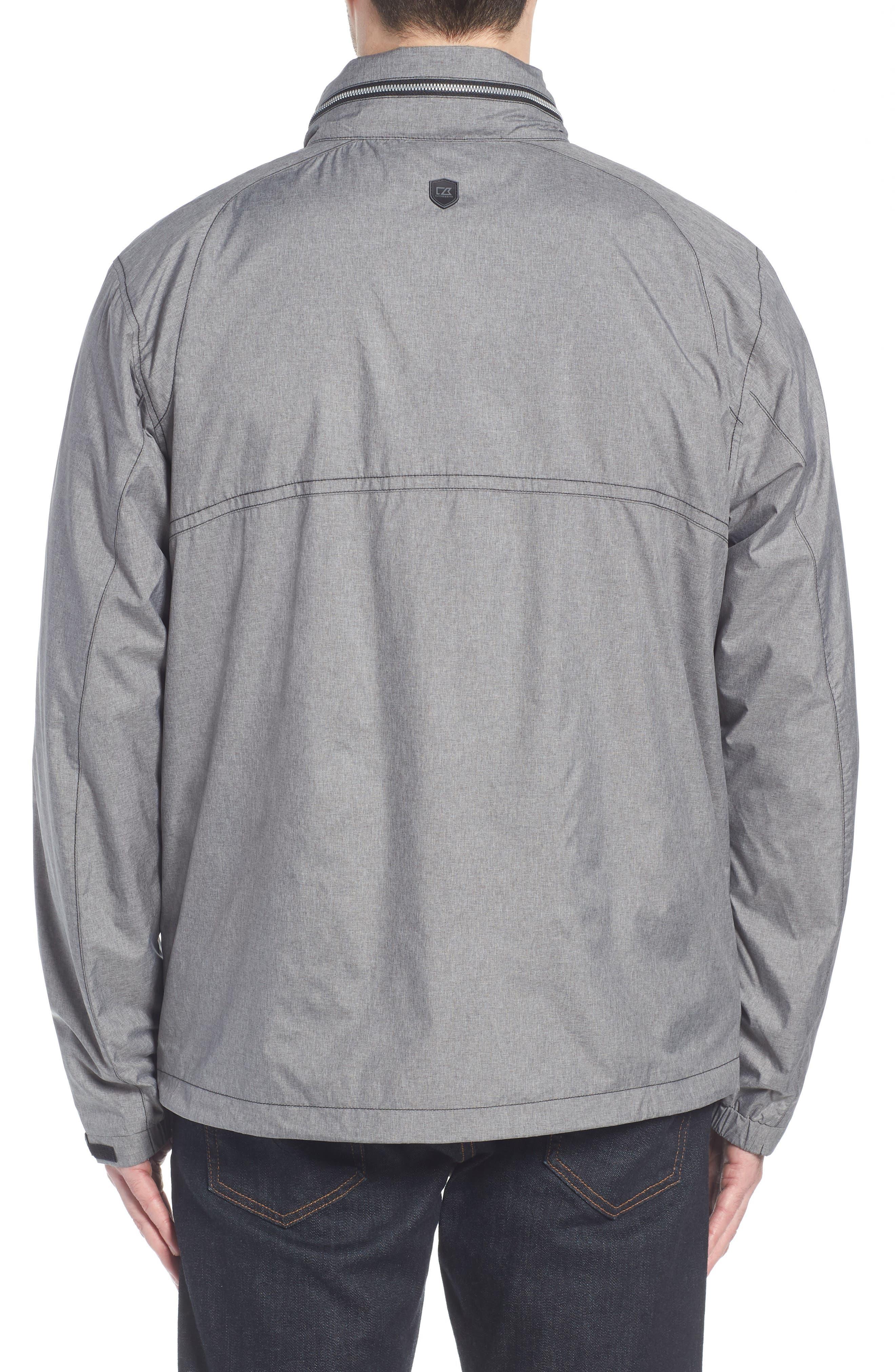 Panoramic Packable Jacket,                             Alternate thumbnail 2, color,                             BLACK