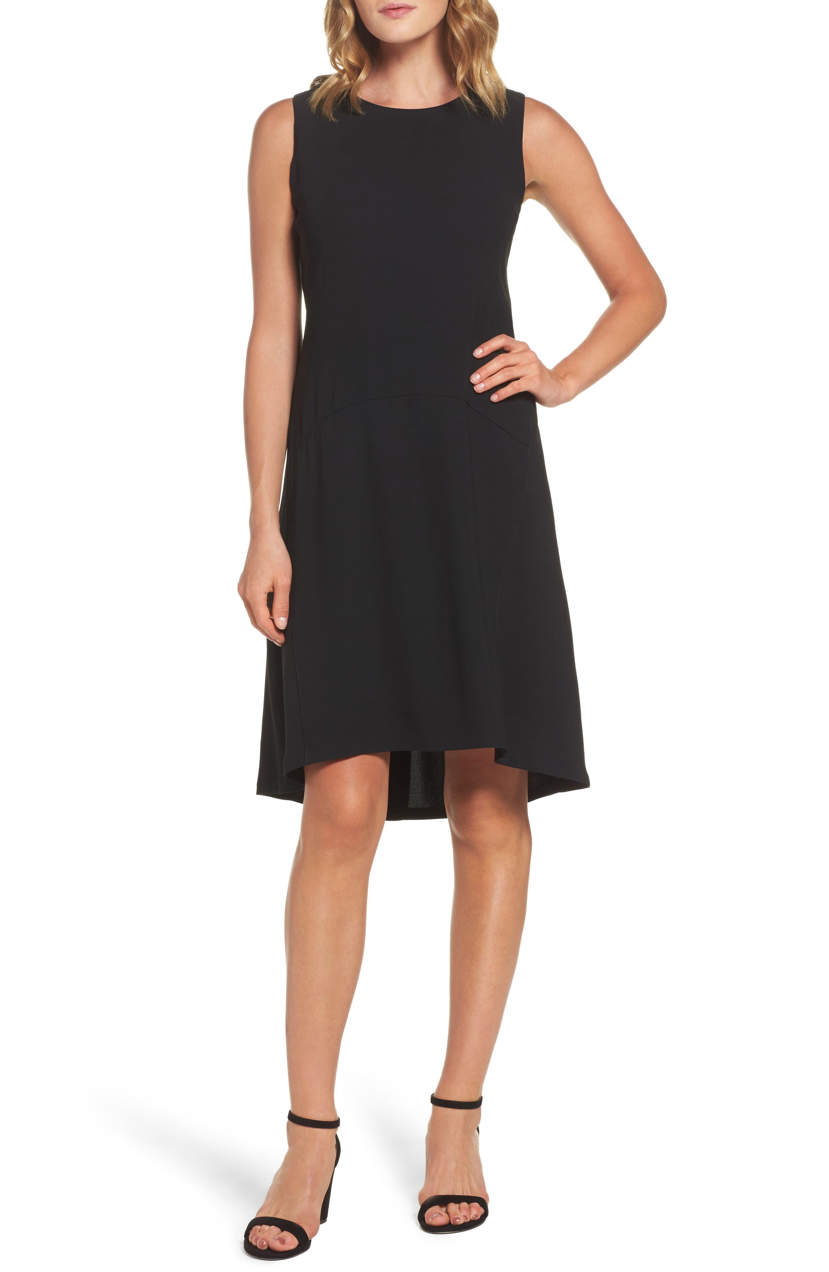 Drop Waist Shift Dress,                         Main,                         color, 001