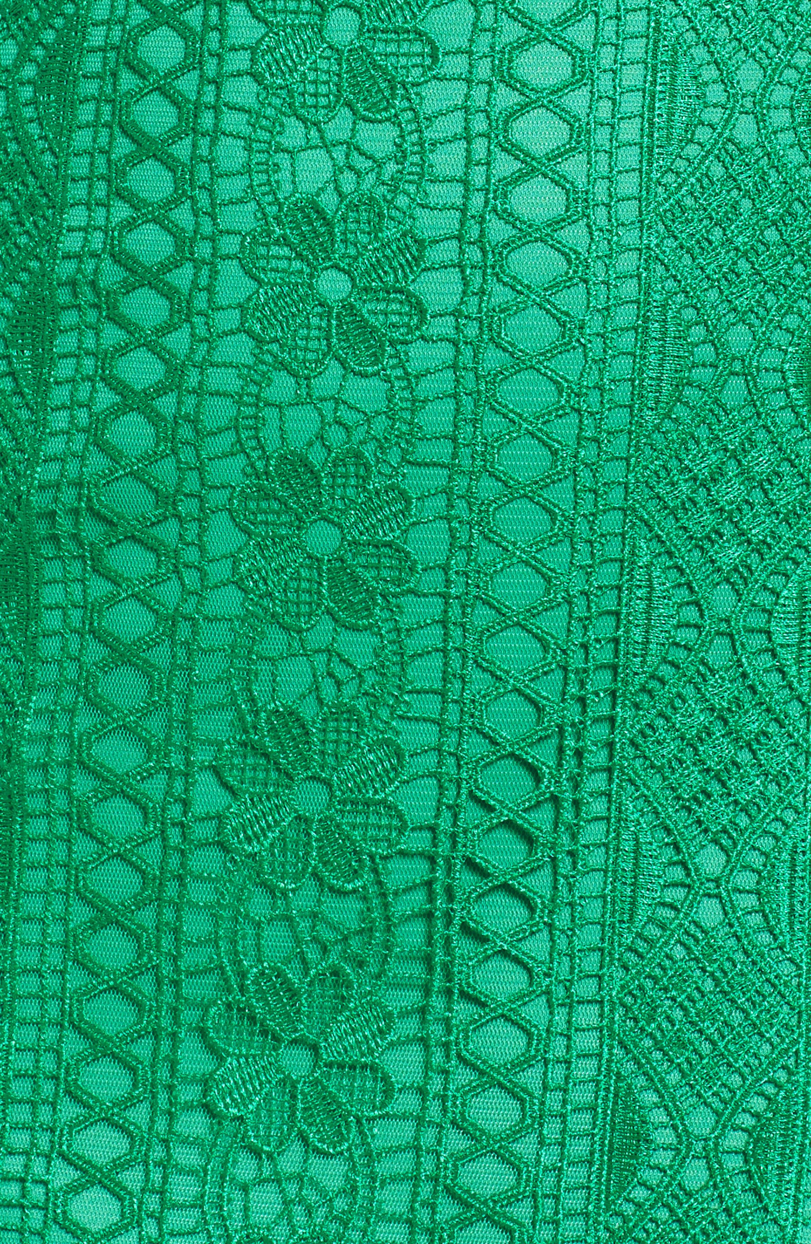 Lace Shift Dress,                             Alternate thumbnail 6, color,                             346