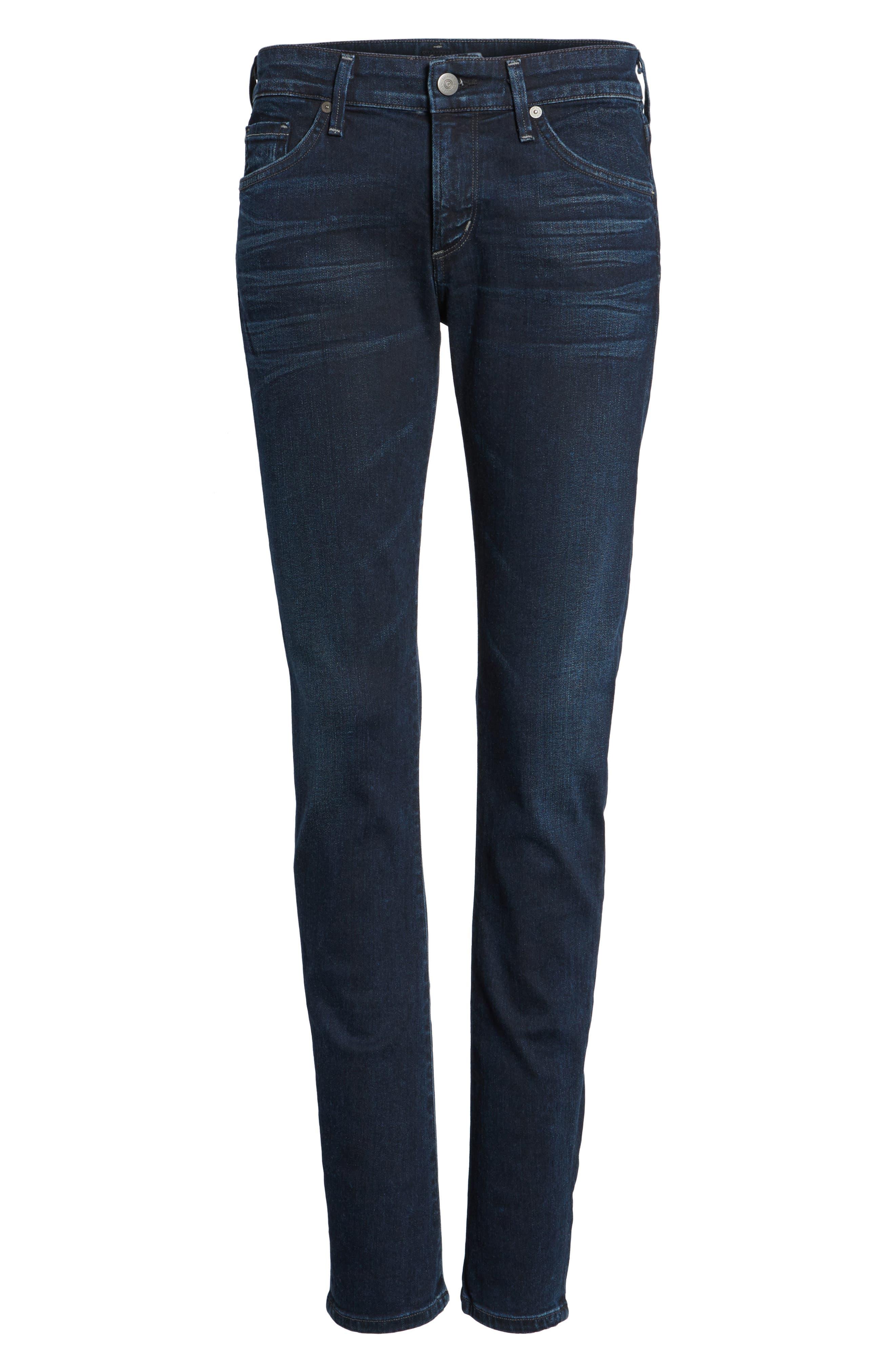 Arielle Skinny Jeans,                             Alternate thumbnail 6, color,                             406