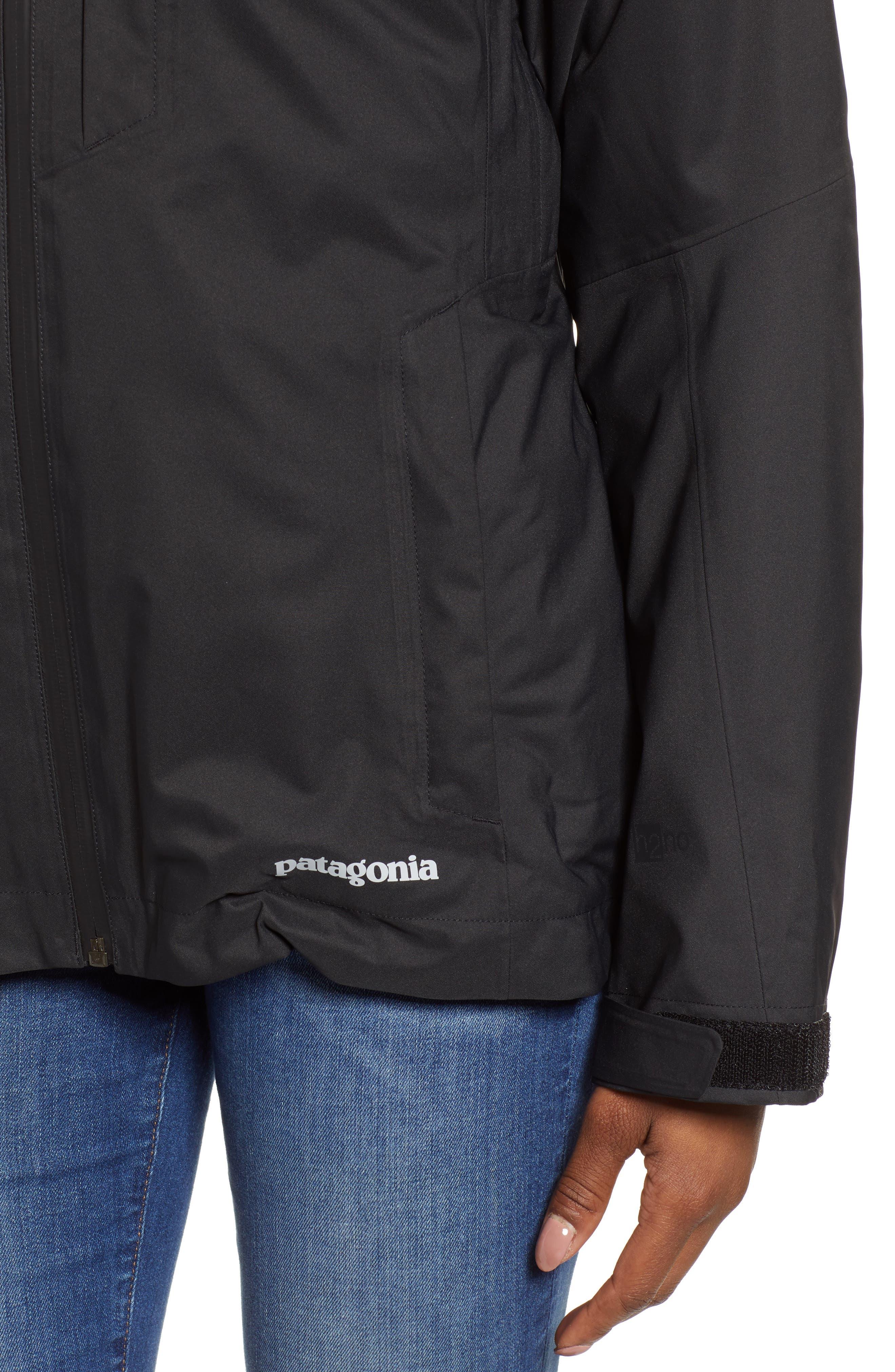 Snowbelle 3-in-1 Jacket,                             Alternate thumbnail 4, color,                             BLACK