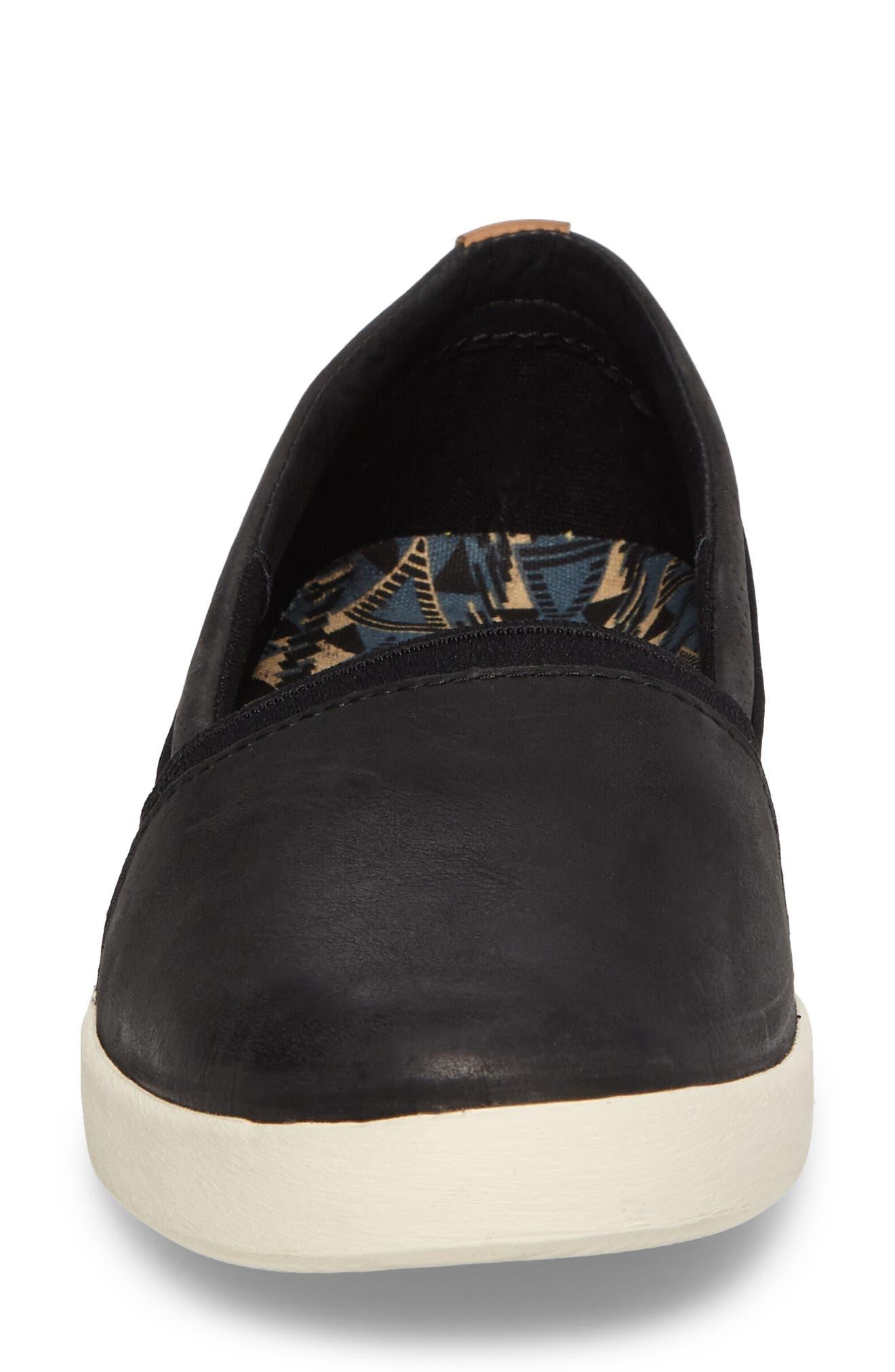 Willow Slip-On Sneaker,                             Alternate thumbnail 4, color,                             001