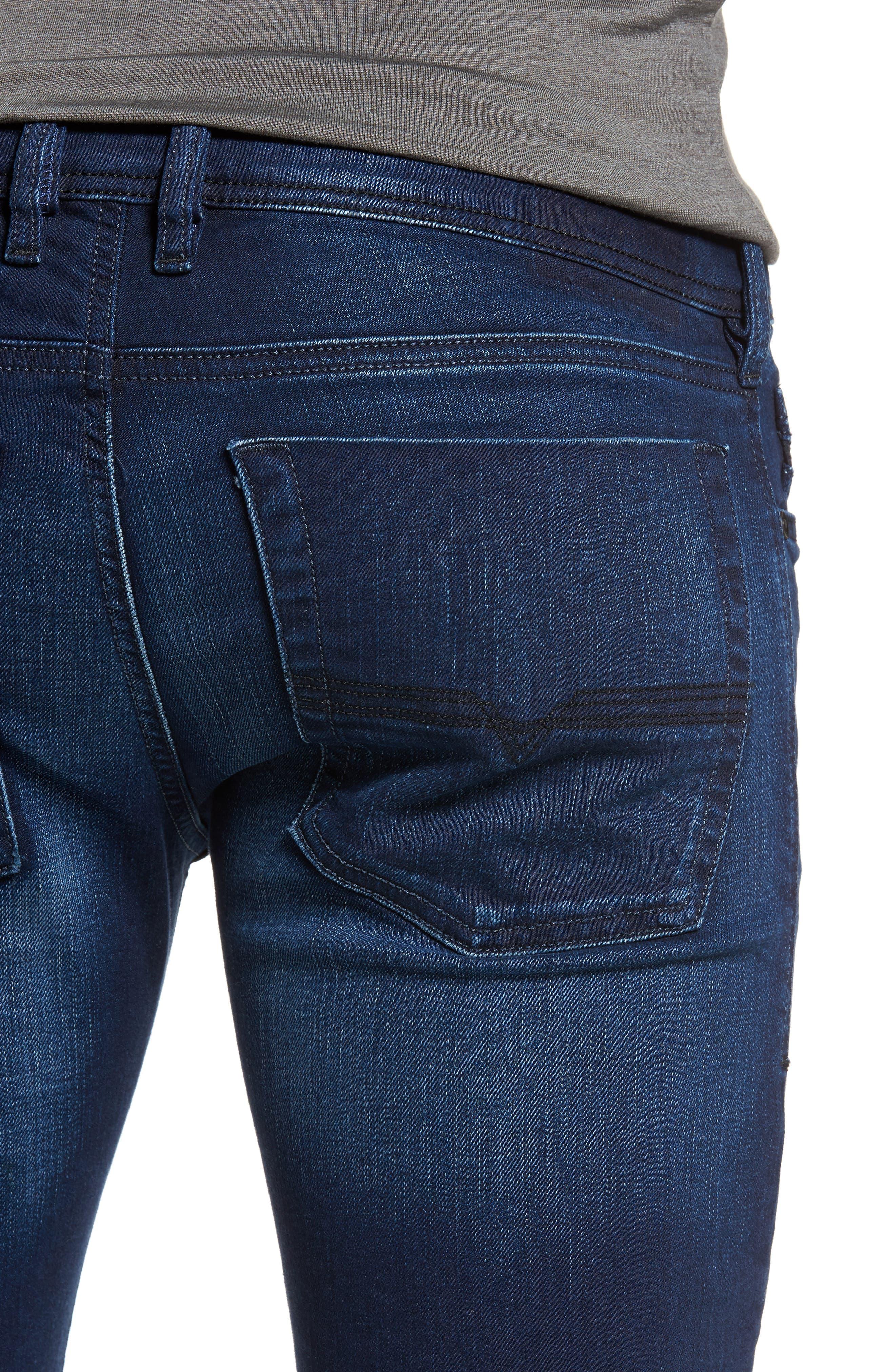 Zatiny Bootcut Jeans,                             Alternate thumbnail 4, color,                             400