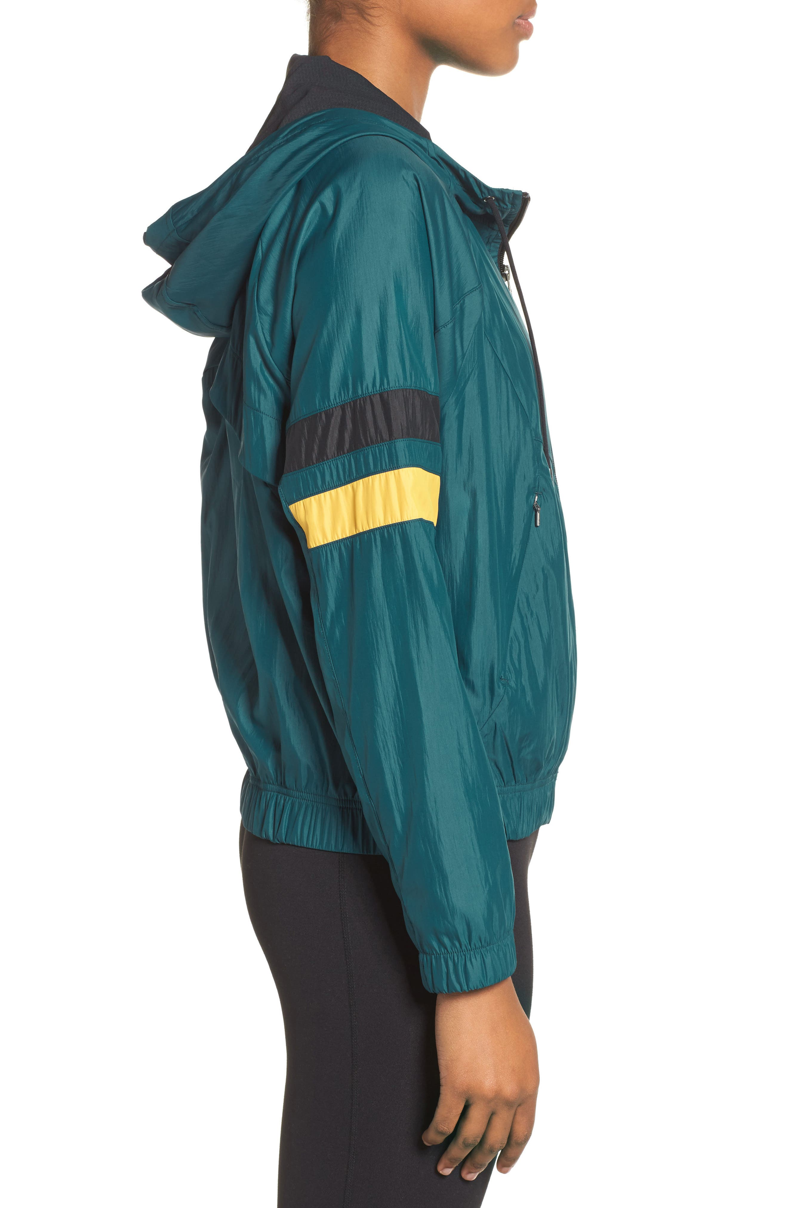 Style Game Colorblock Jacket,                             Alternate thumbnail 3, color,                             449