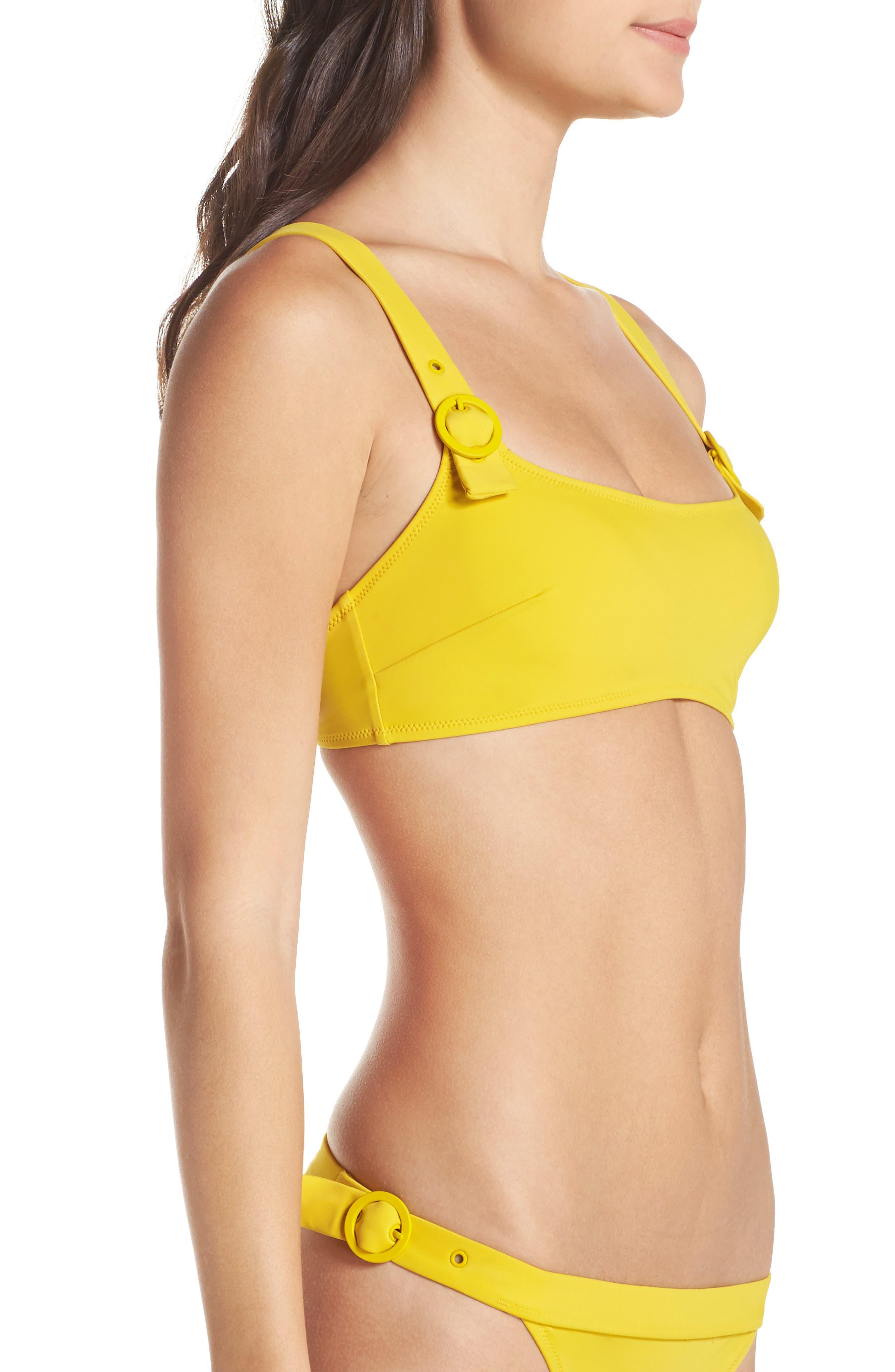 The Evelyn Bikini Top,                             Alternate thumbnail 3, color,