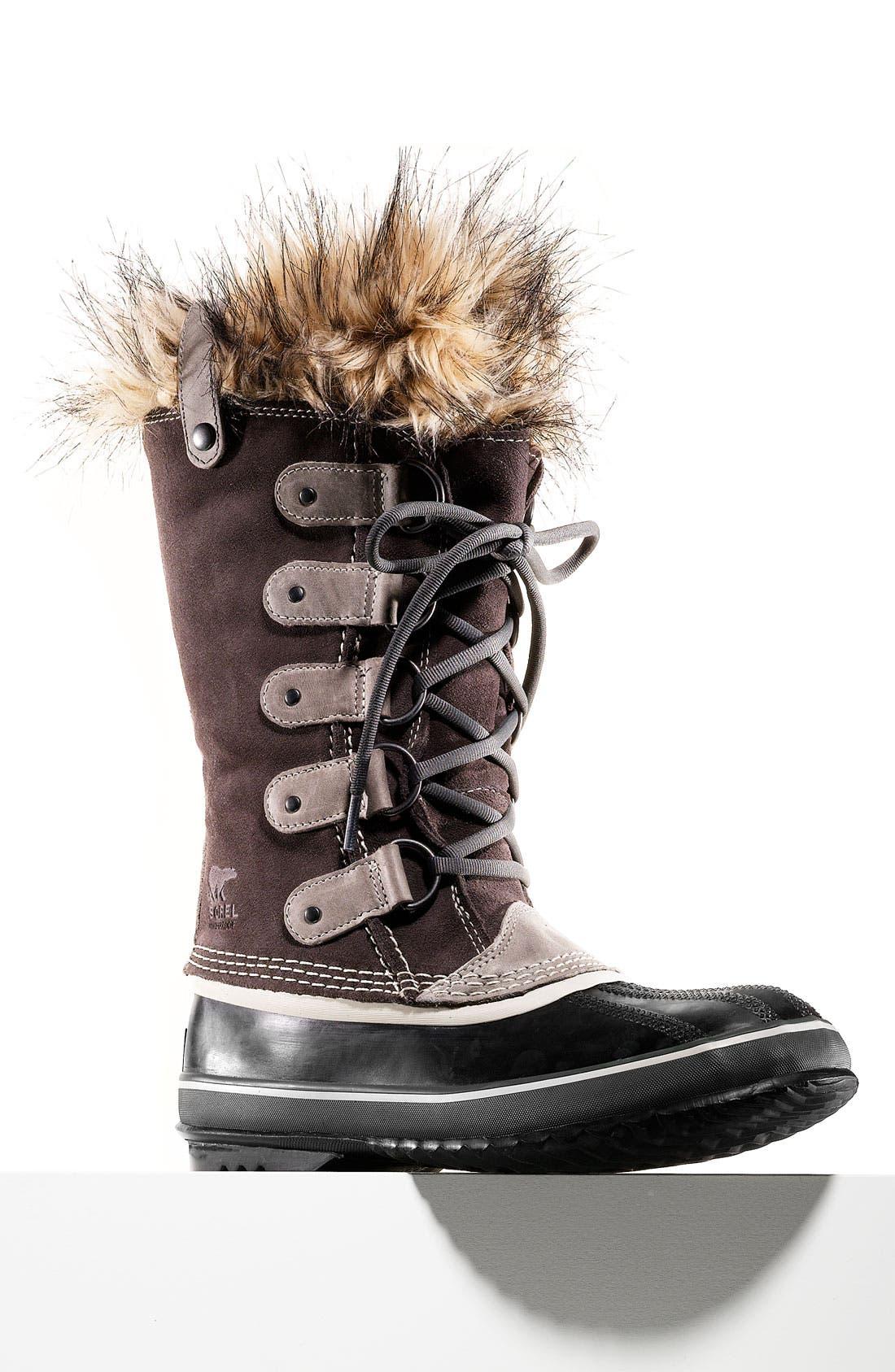 'Joan of Arctic' Waterproof Snow Boot,                             Main thumbnail 1, color,                             CATTAIL