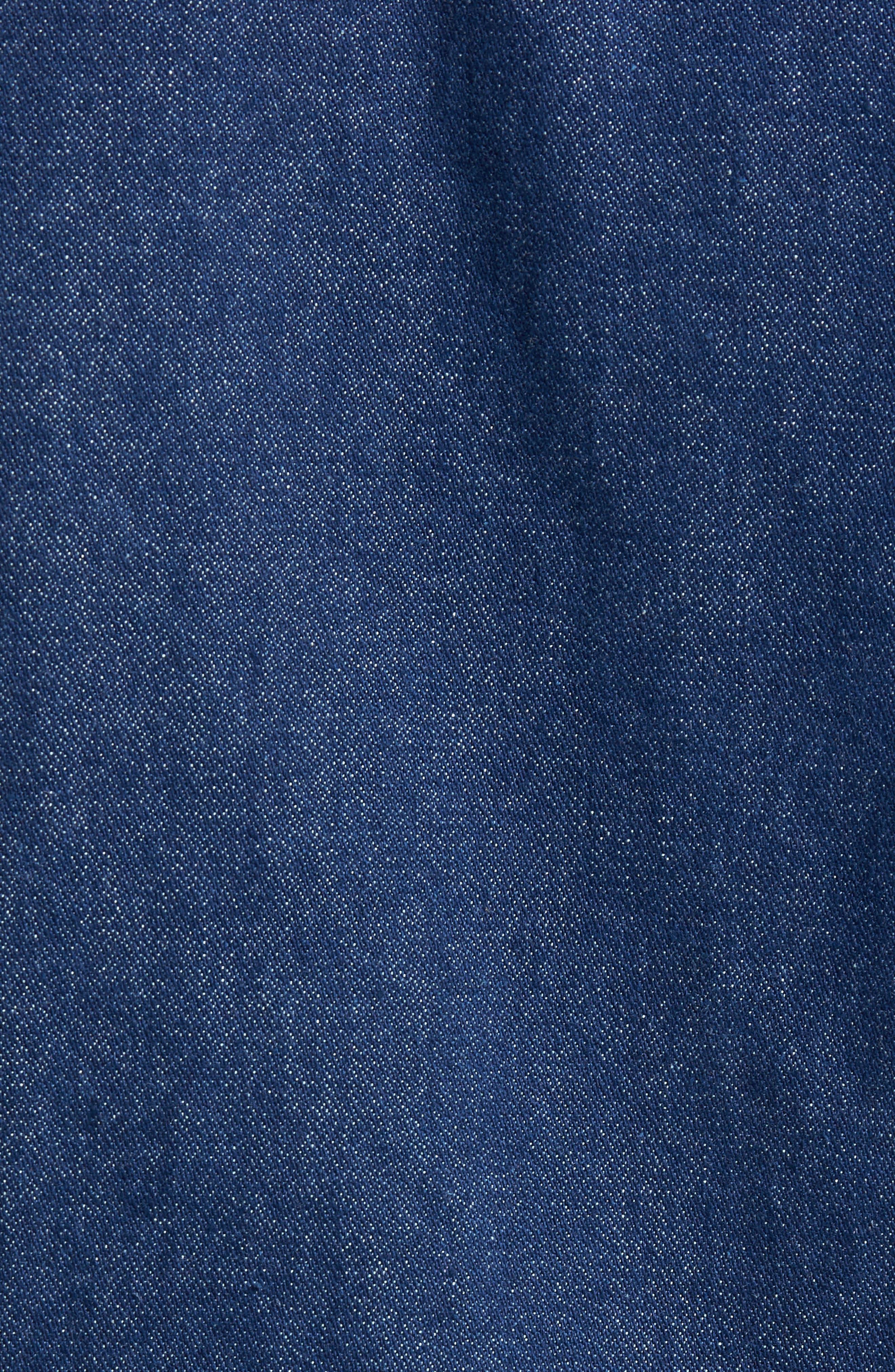 x Wrangler Denim Jacket,                             Alternate thumbnail 7, color,                             401