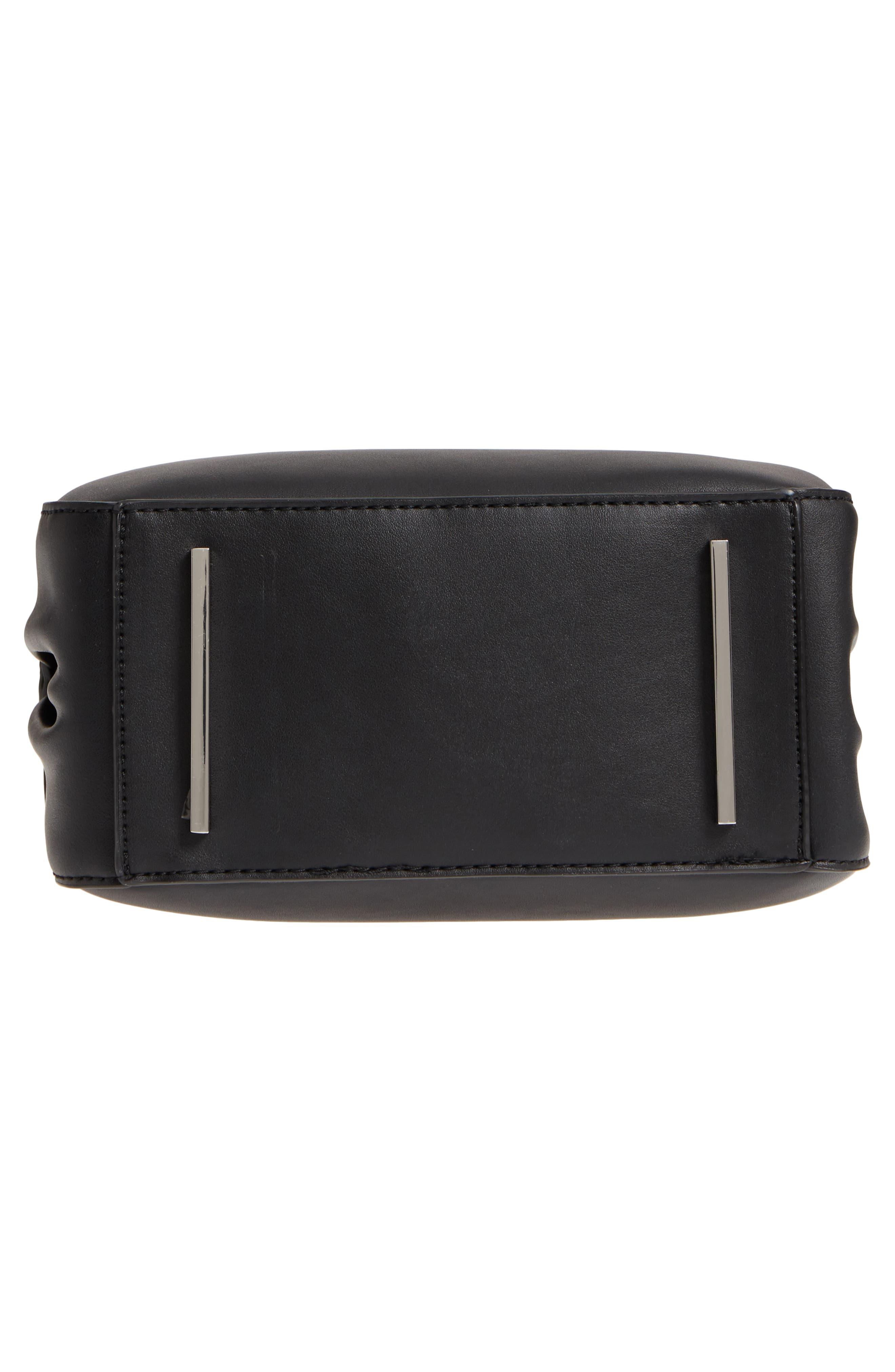 Céline Dion Motif Top Handle Leather Satchel,                             Alternate thumbnail 16, color,