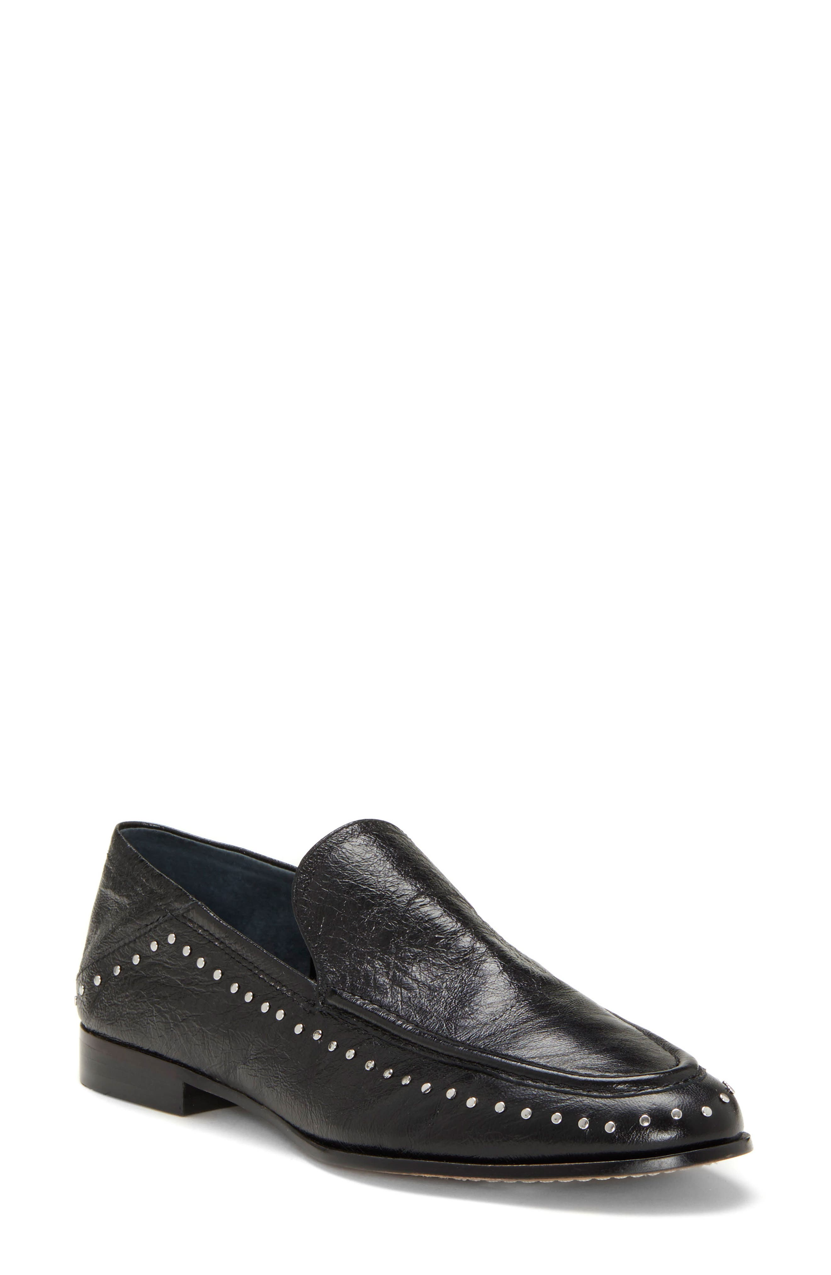Jendeya Convertible Studded Loafer, Main, color, 001