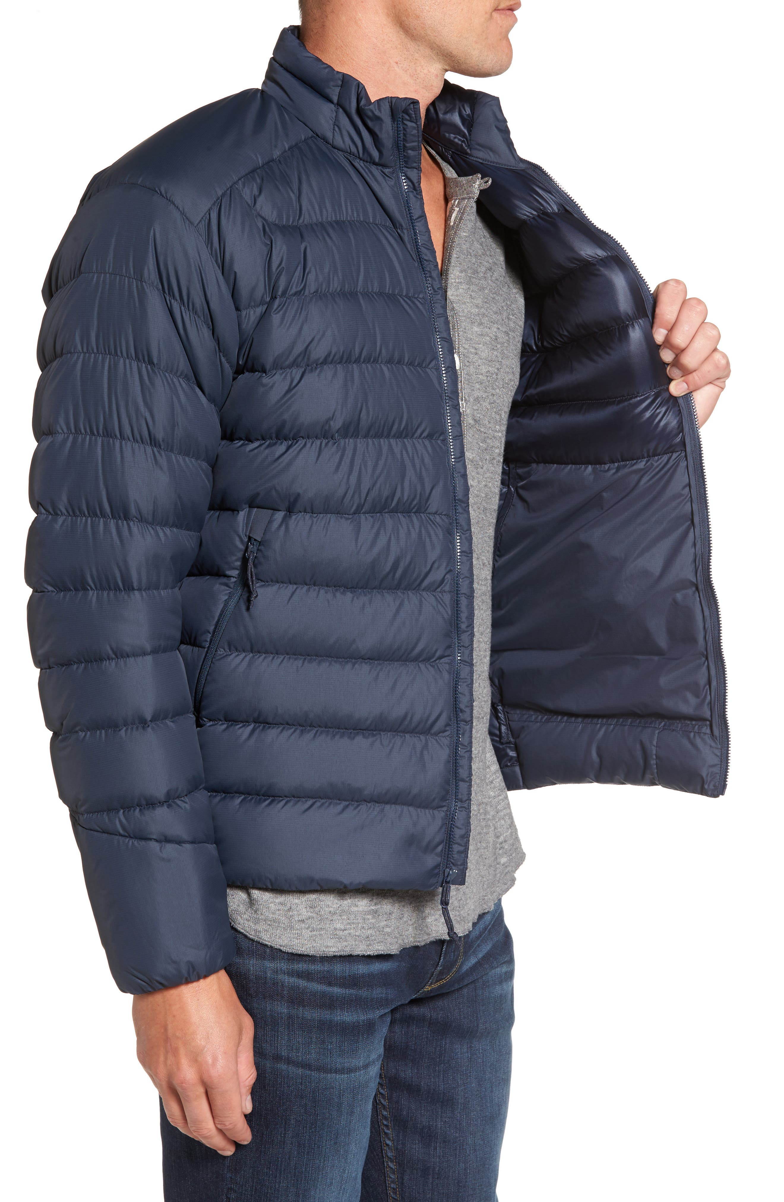 Thorium AR Water Resistant 750 Fill Power Down Jacket,                             Alternate thumbnail 3, color,                             400