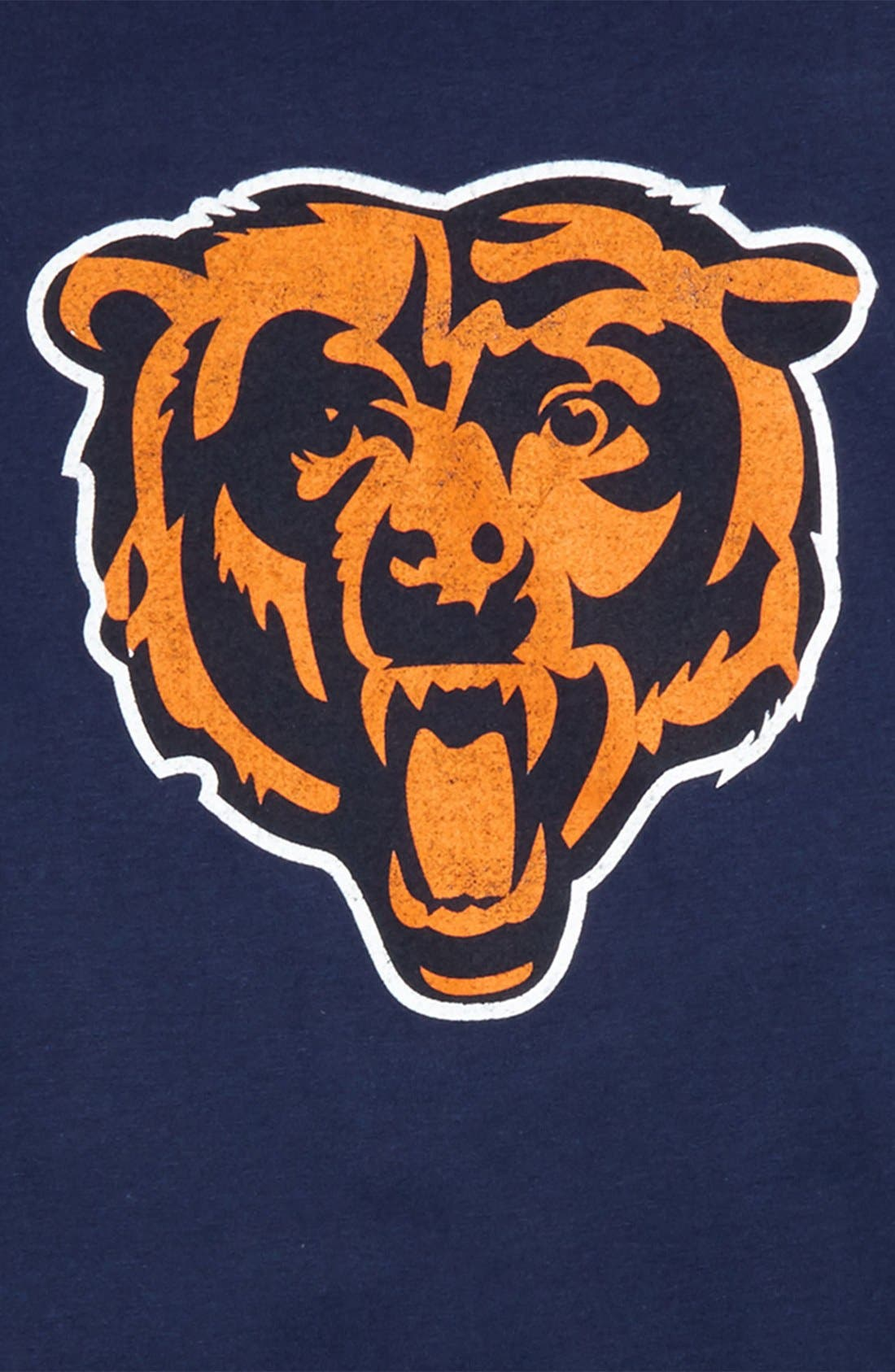'NFL - Chicago Bears' Distressed Logo Graphic T-Shirt,                             Alternate thumbnail 4, color,                             410