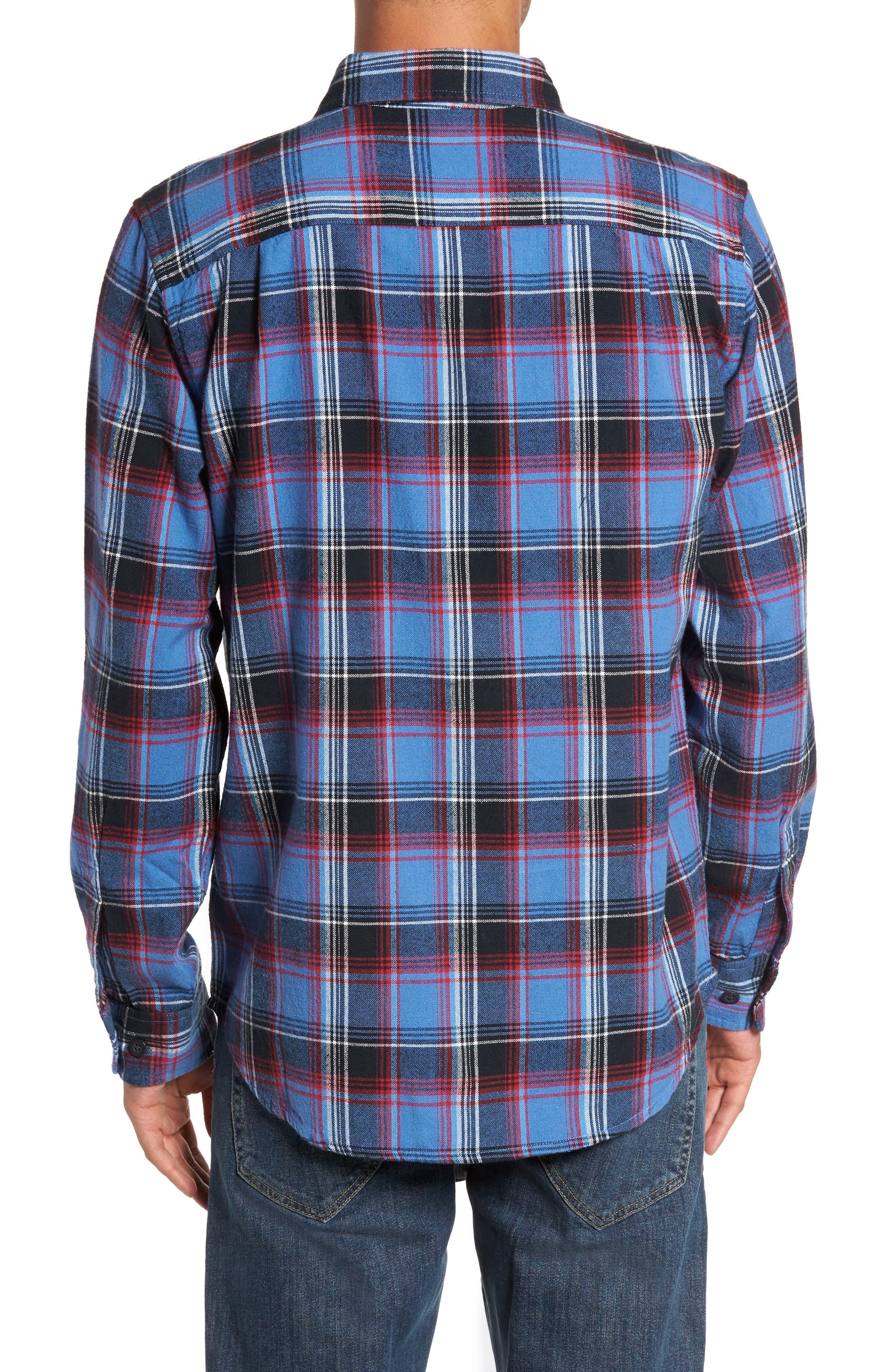 Marvyn Plaid Woven Shirt,                             Alternate thumbnail 2, color,                             410