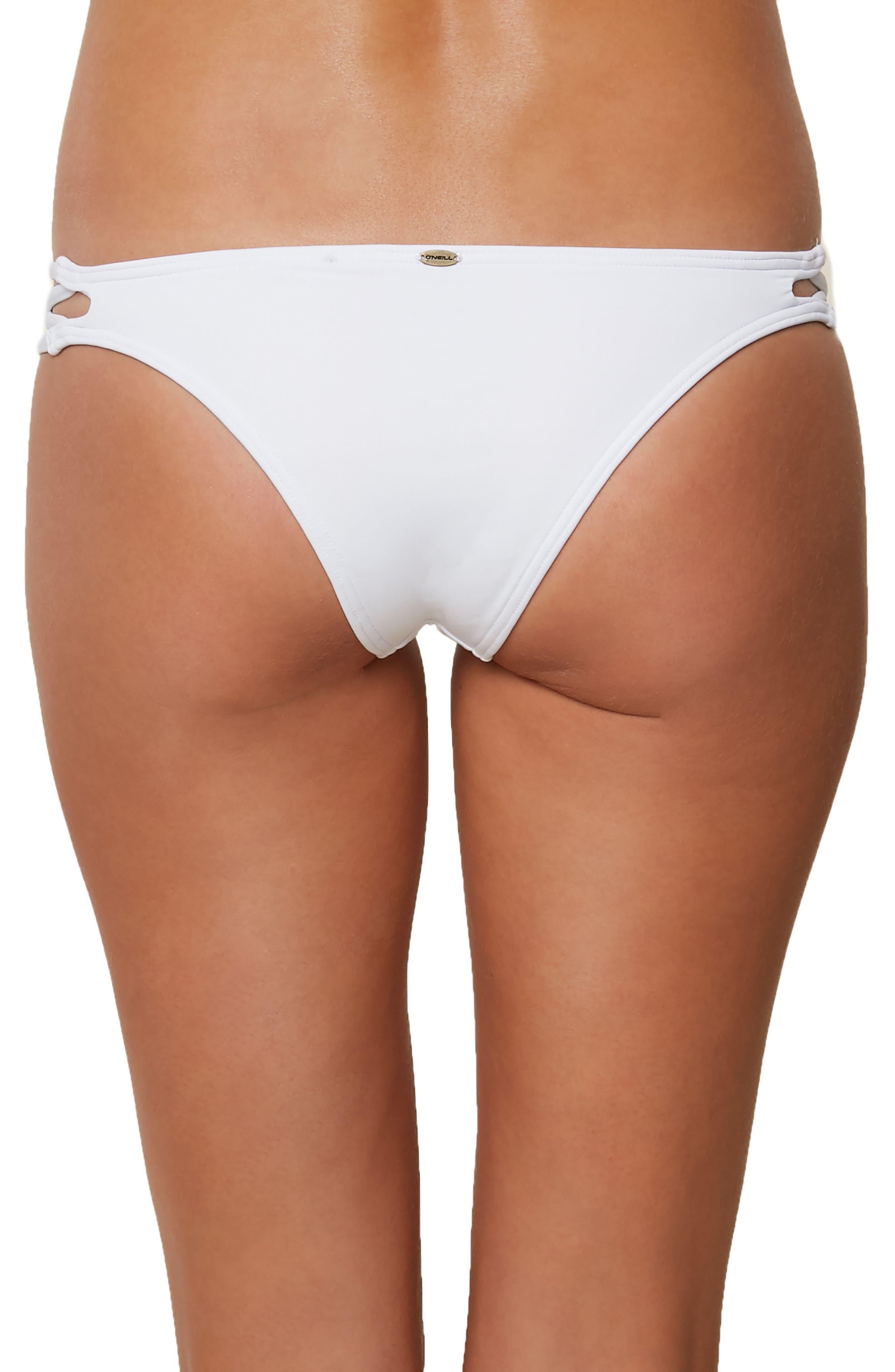 Salt Water Crisscross Bikini Bottoms,                             Alternate thumbnail 2, color,                             100