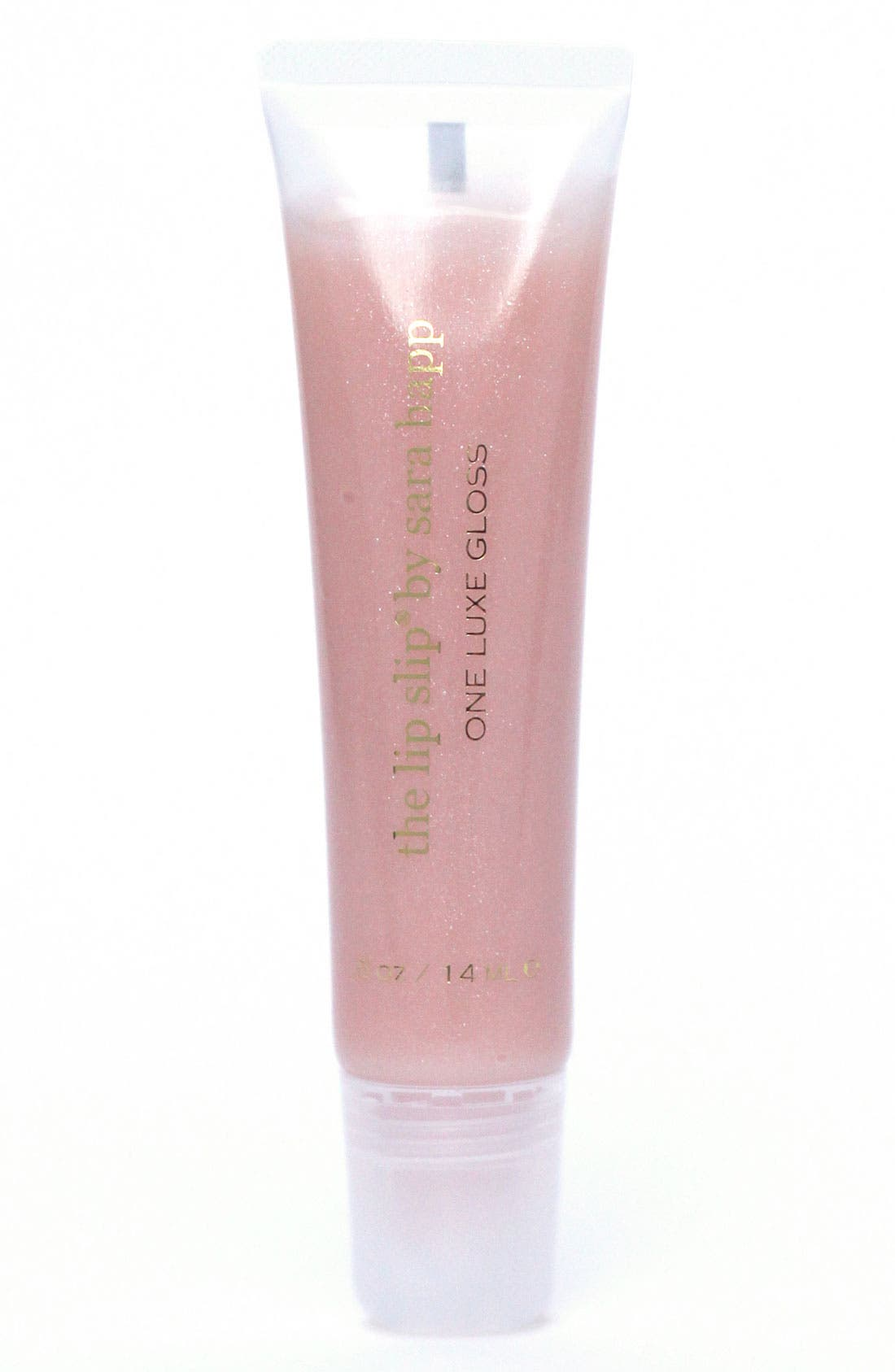The Lip Slip<sup>®</sup> One Luxe Clear Shine Lip Gloss,                             Main thumbnail 1, color,                             NO COLOR