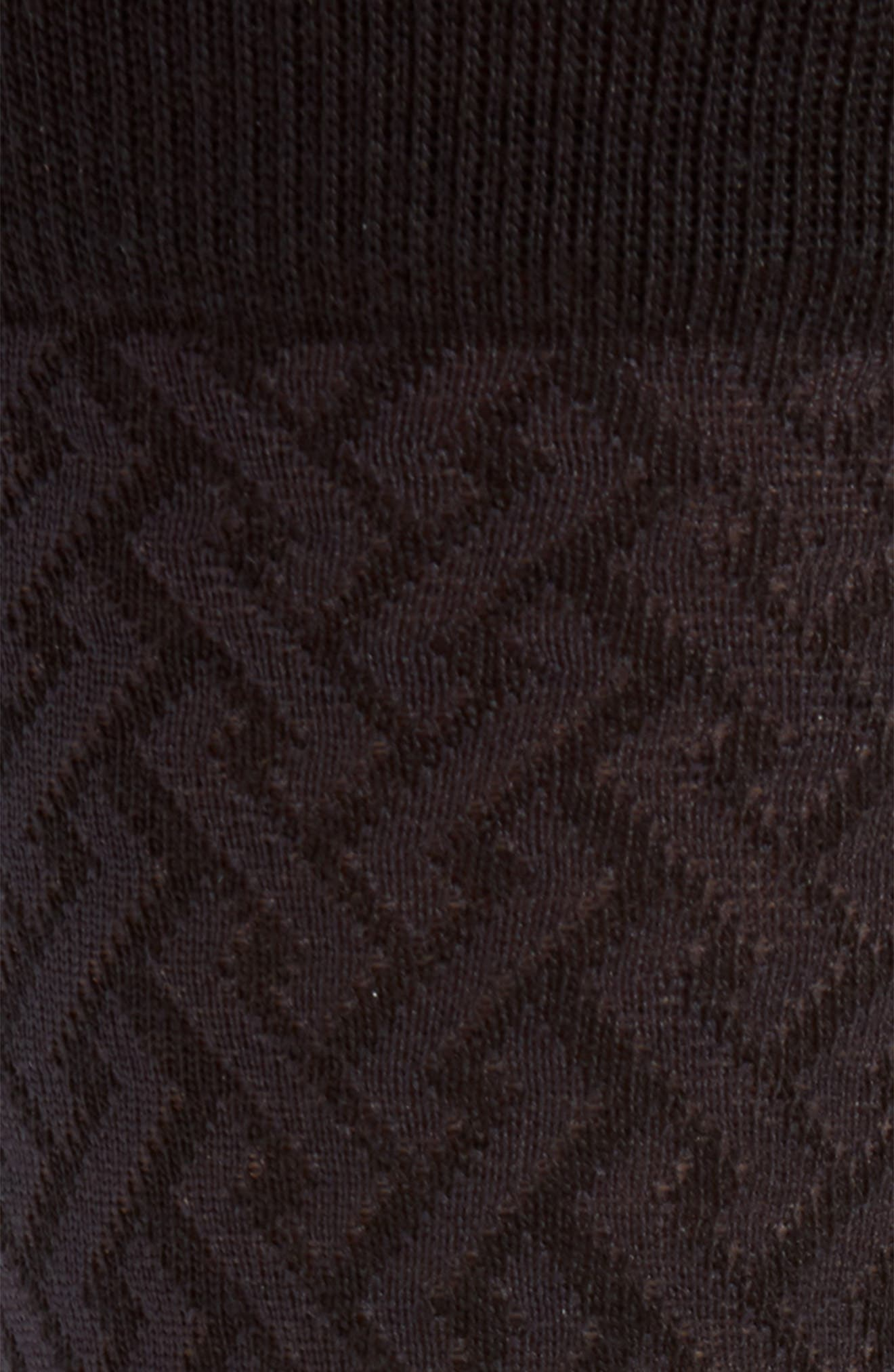 Intertwined Lines Socks,                             Alternate thumbnail 2, color,                             001