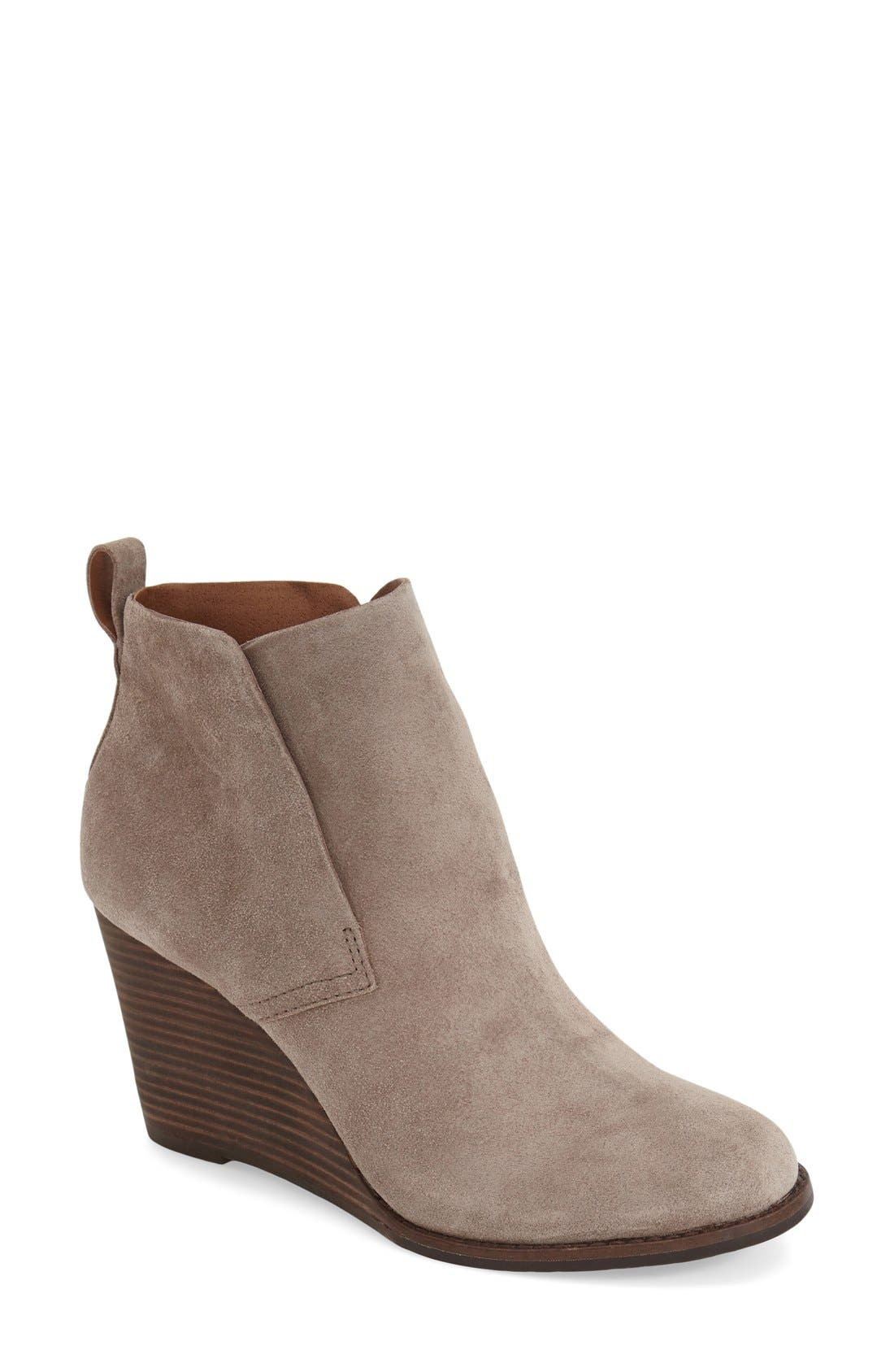 'Yoniana' Wedge Bootie,                             Main thumbnail 4, color,