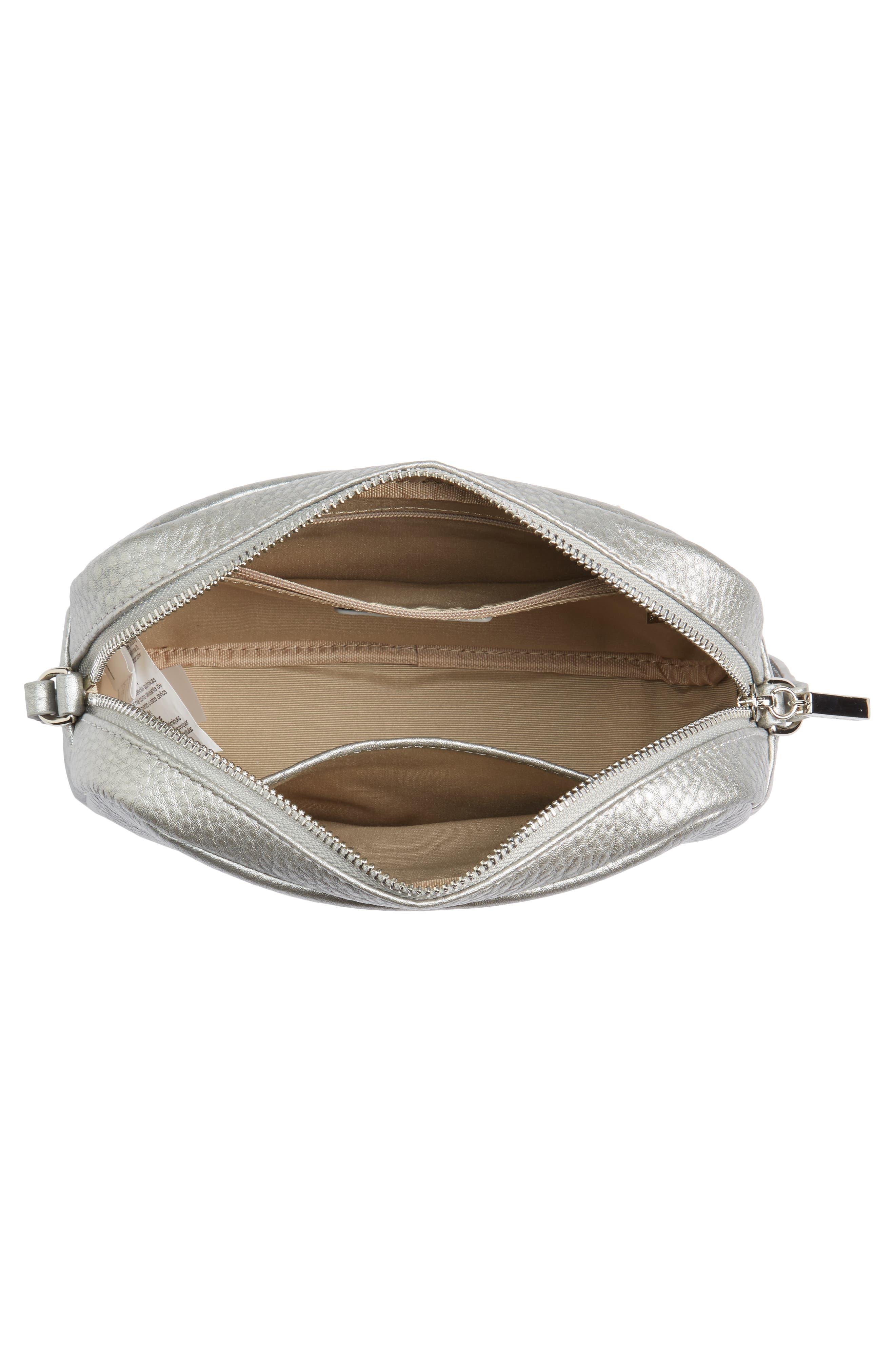 Céline Dion Adagio Leather Camera Crossbody Bag,                             Alternate thumbnail 11, color,