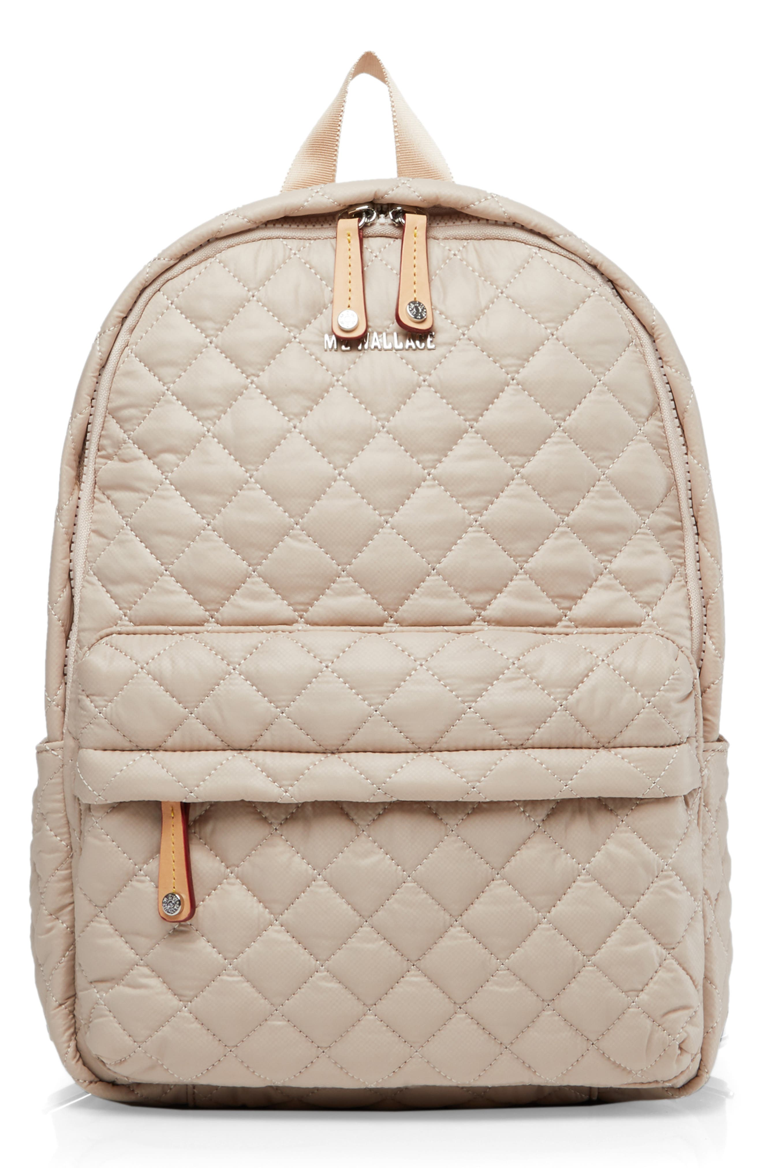 Mz Wallace Backpacks SMALL METRO BACKPACK - IVORY