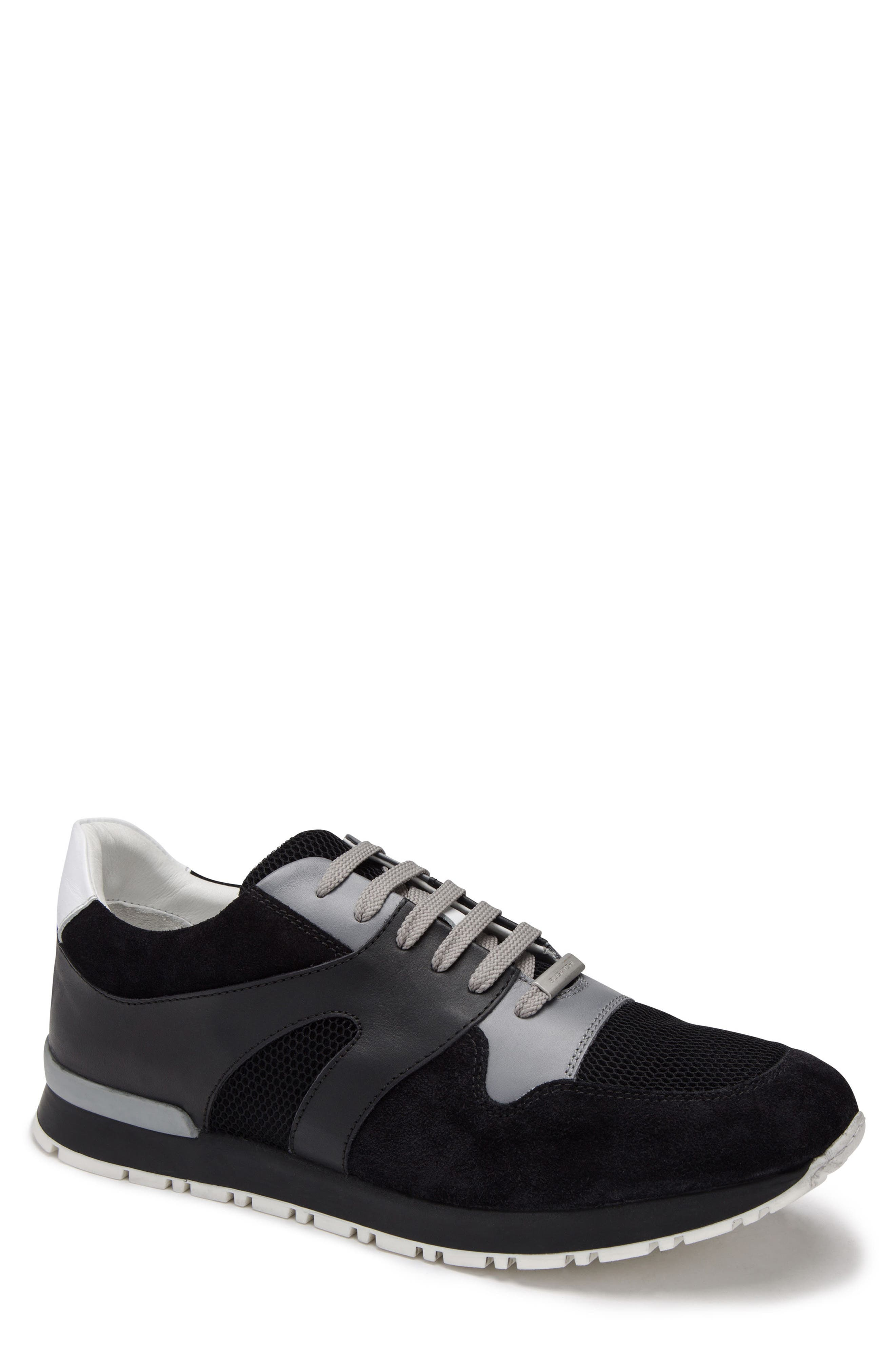 Portofino Sneaker,                             Main thumbnail 1, color,                             NERO
