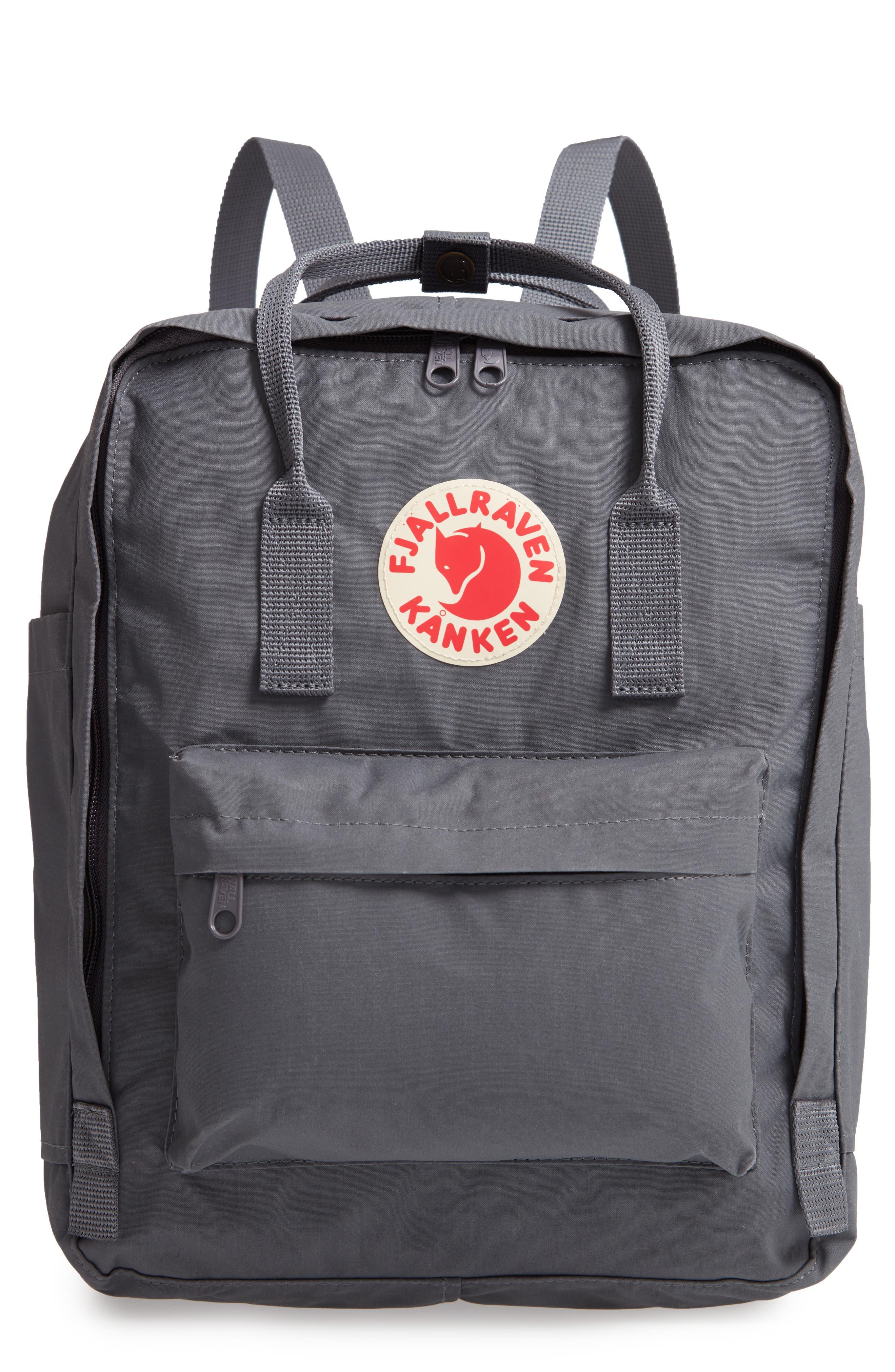 'Kånken' Water Resistant Backpack,                         Main,                         color, SUPER GREY