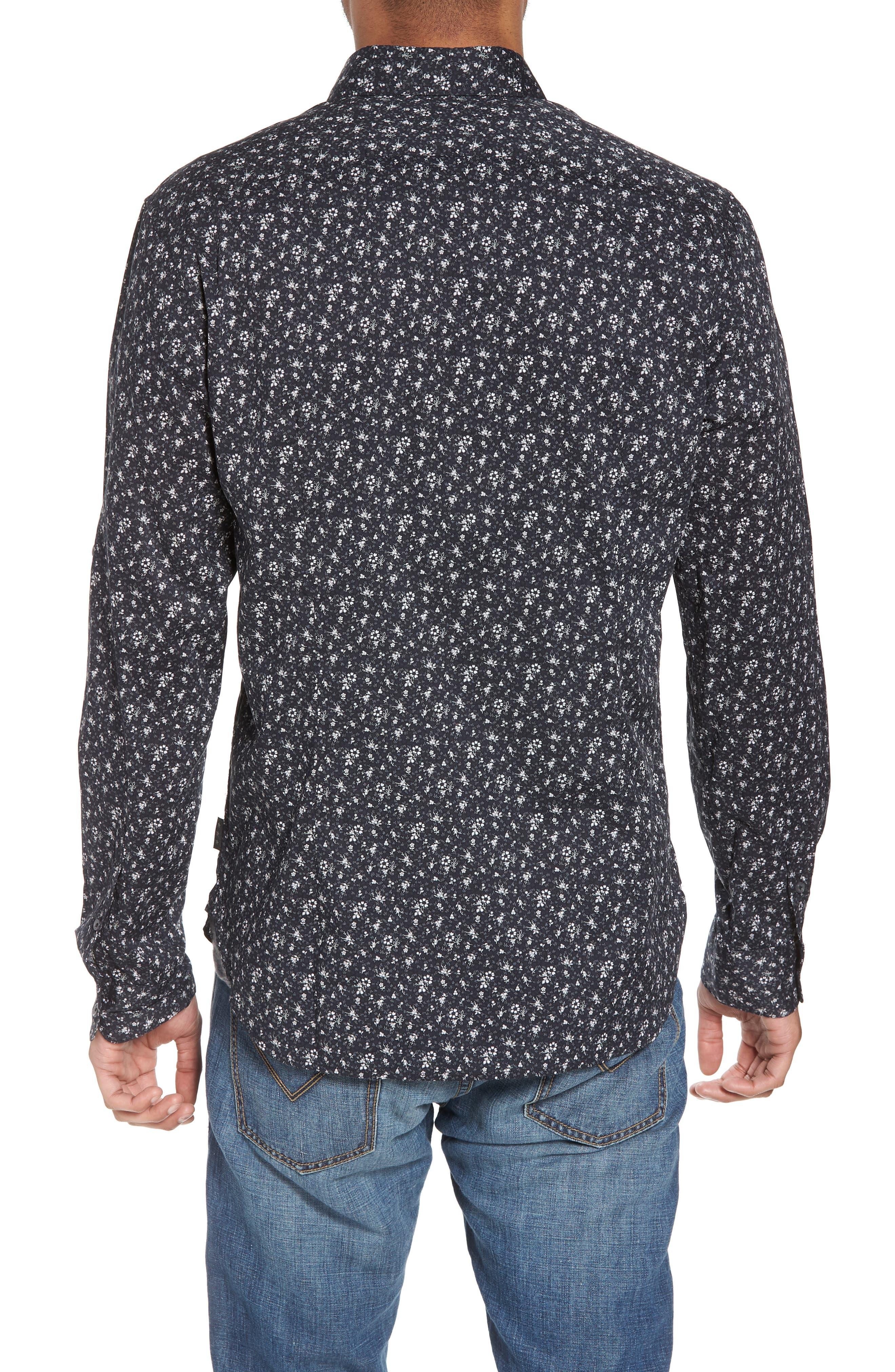 Extra Slim Fit Sport Shirt,                             Alternate thumbnail 2, color,                             012