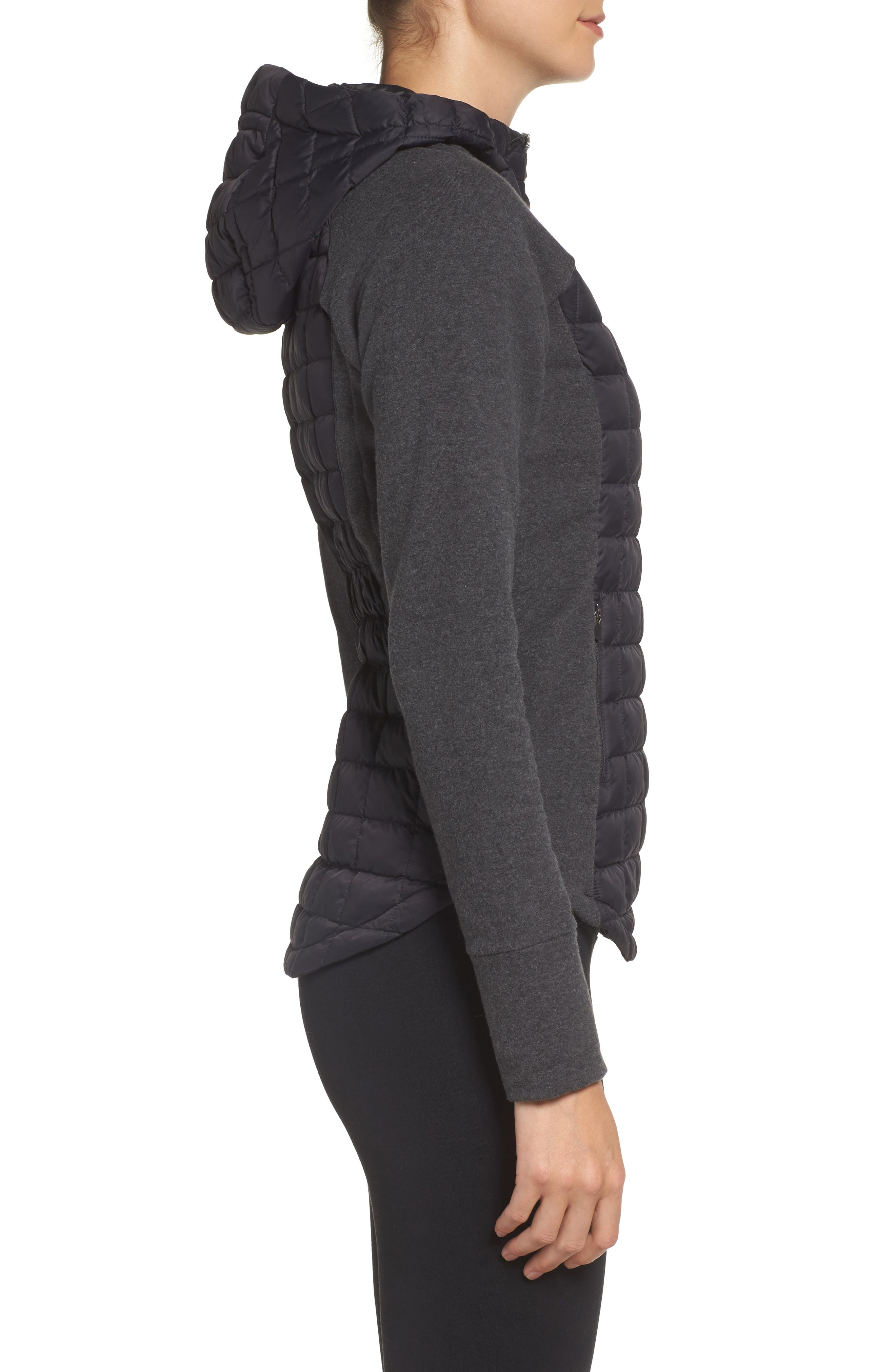 'Endeavor' ThermoBall PrimaLoft<sup>®</sup> Quilted Jacket,                             Alternate thumbnail 4, color,                             001