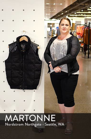 Ricky Bobby Windproof & Waterproof 650-Fill Power Down Puffer Vest, sales video thumbnail
