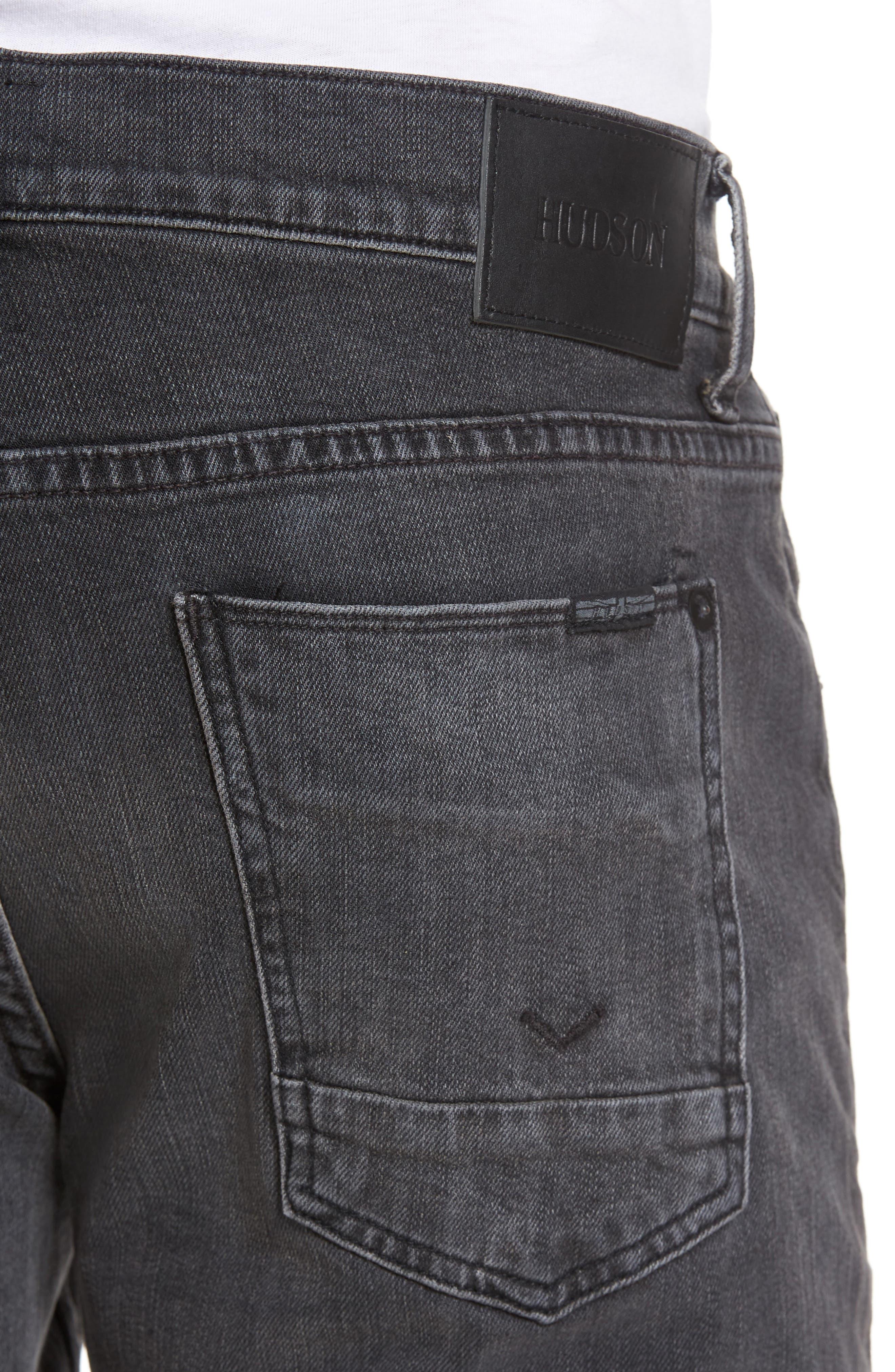 Byron Slim Straight Leg Jeans,                             Alternate thumbnail 4, color,