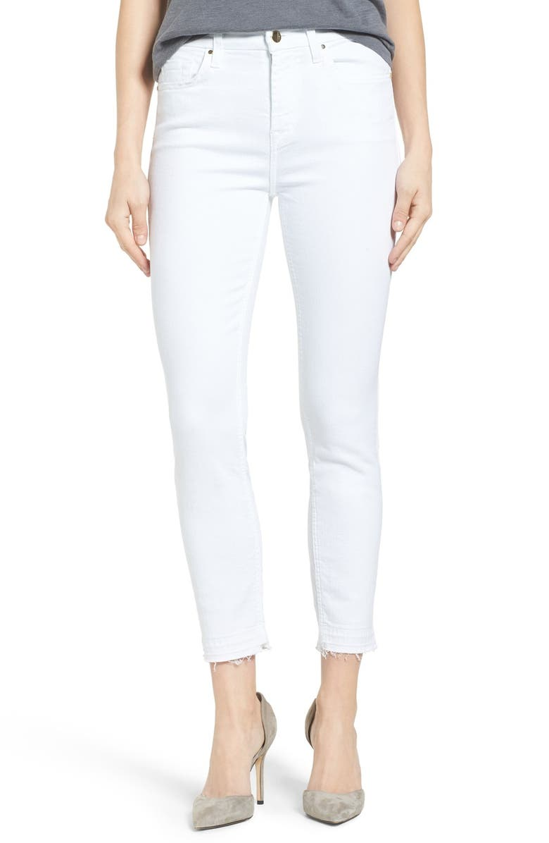 JEN7 by 7 For All Mankind Release Hem Stretch Skinny Ankle Jeans ... 713dbc9b1