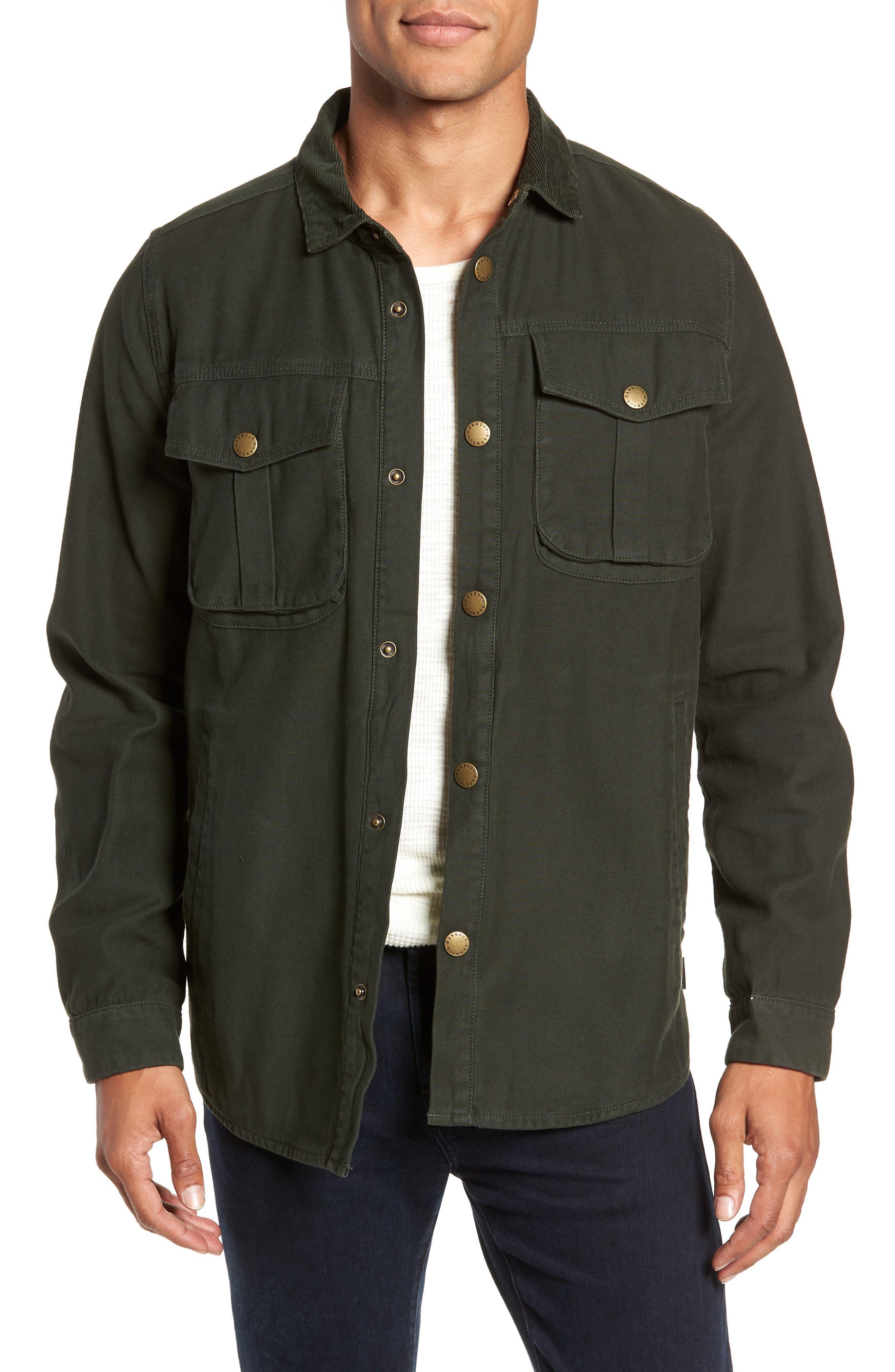 Deck Jacket,                             Main thumbnail 1, color,                             SEAWEED