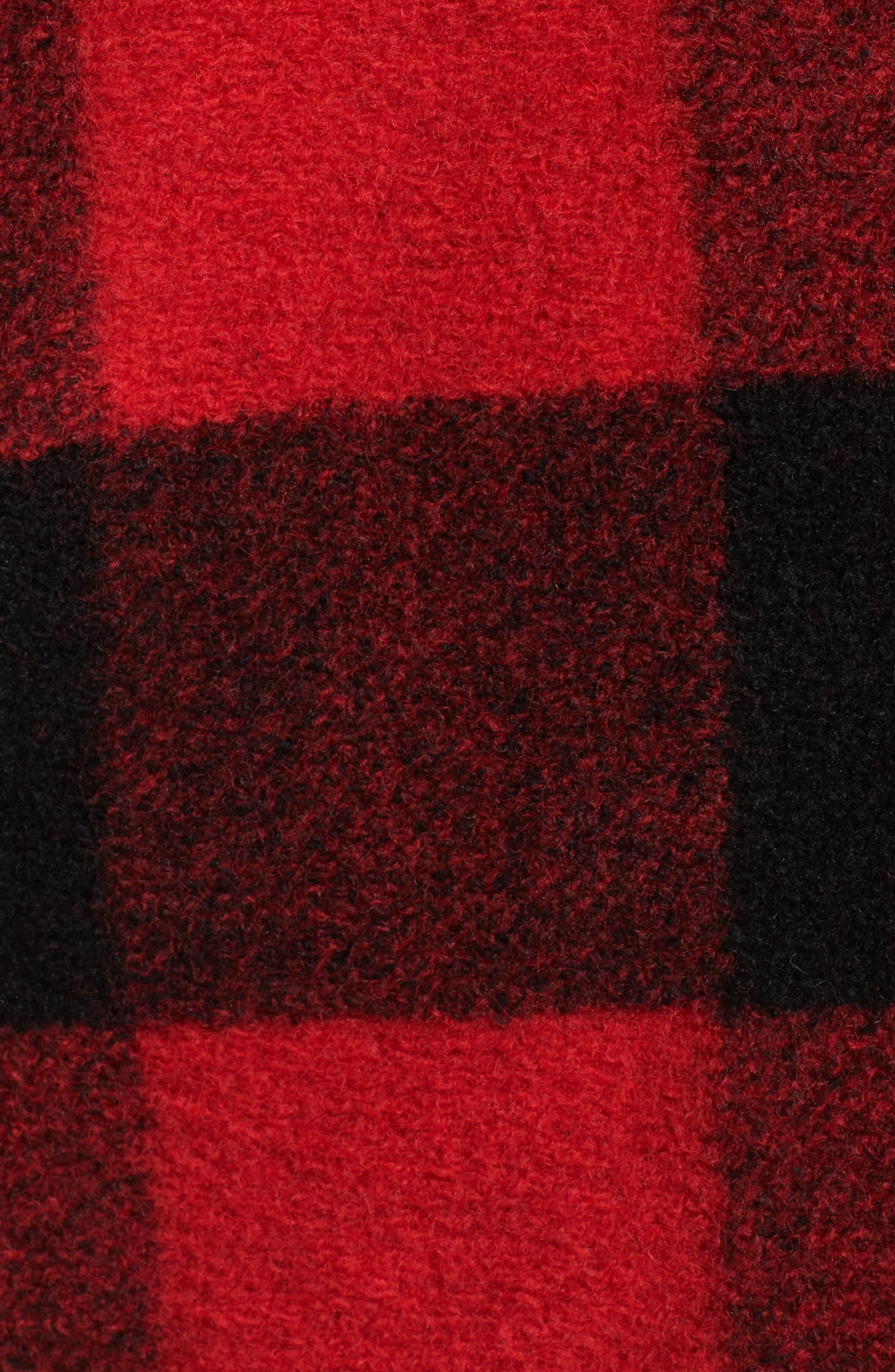 Paul Bunyan Plaid Wool Blend Barn Coat,                             Alternate thumbnail 12, color,